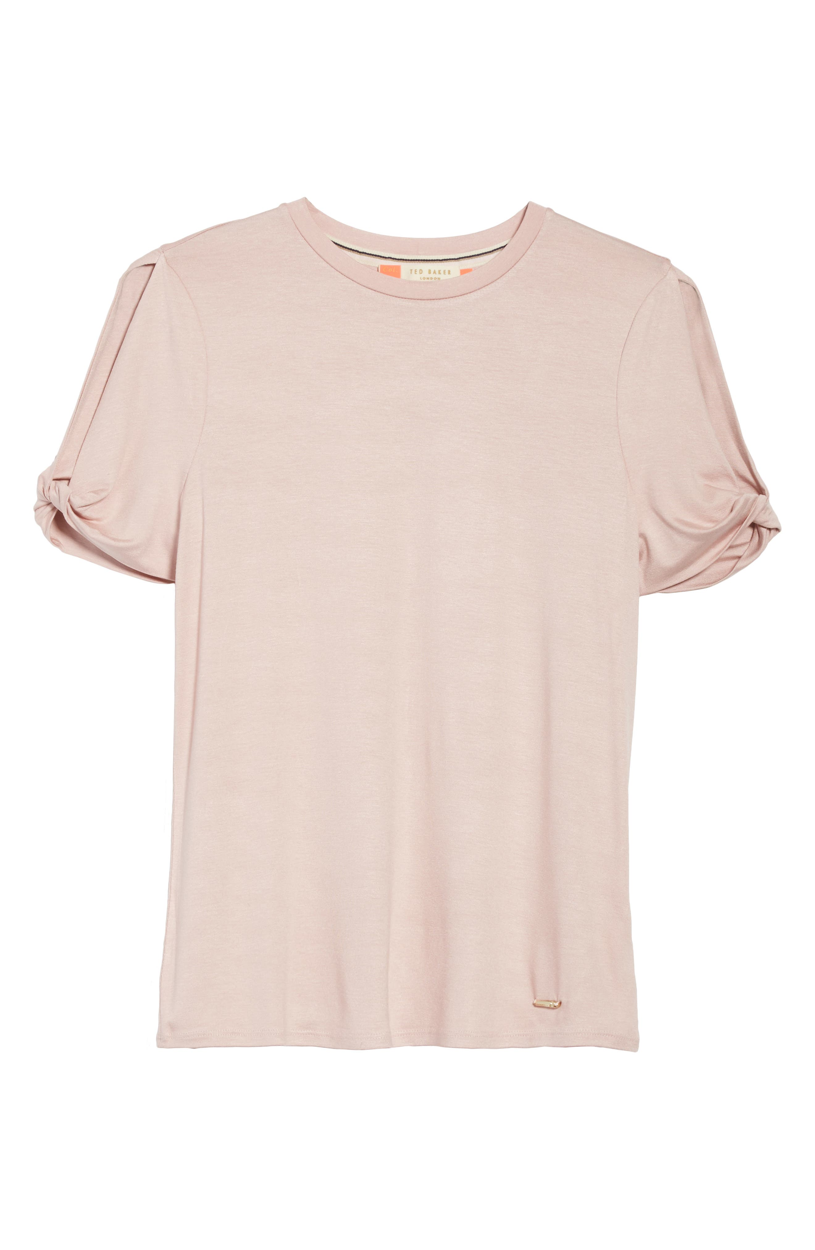 Narva Jersey Top,                             Alternate thumbnail 6, color,                             Nude Pink