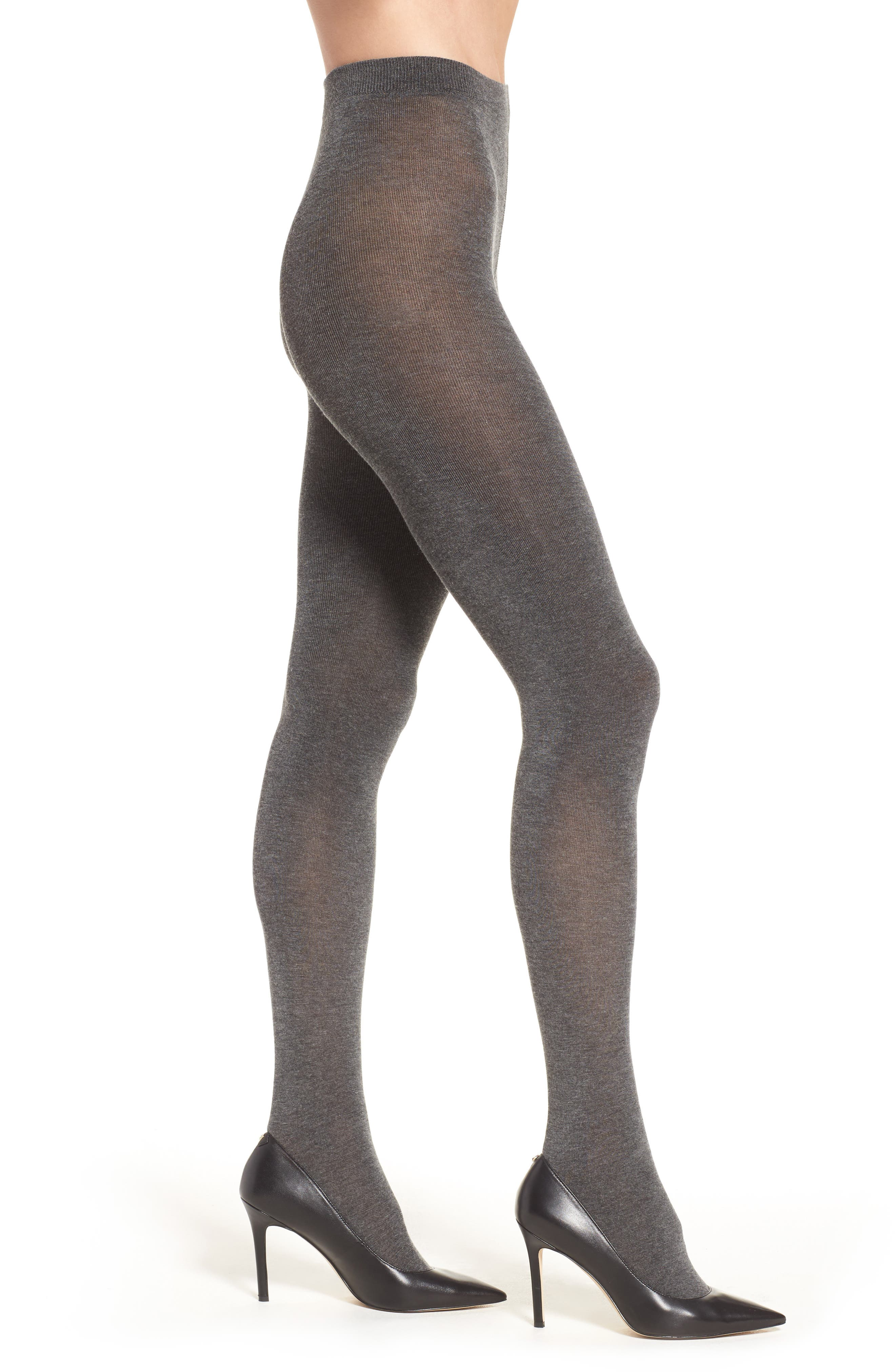 Sweater Tights,                         Main,                         color, Charcoal