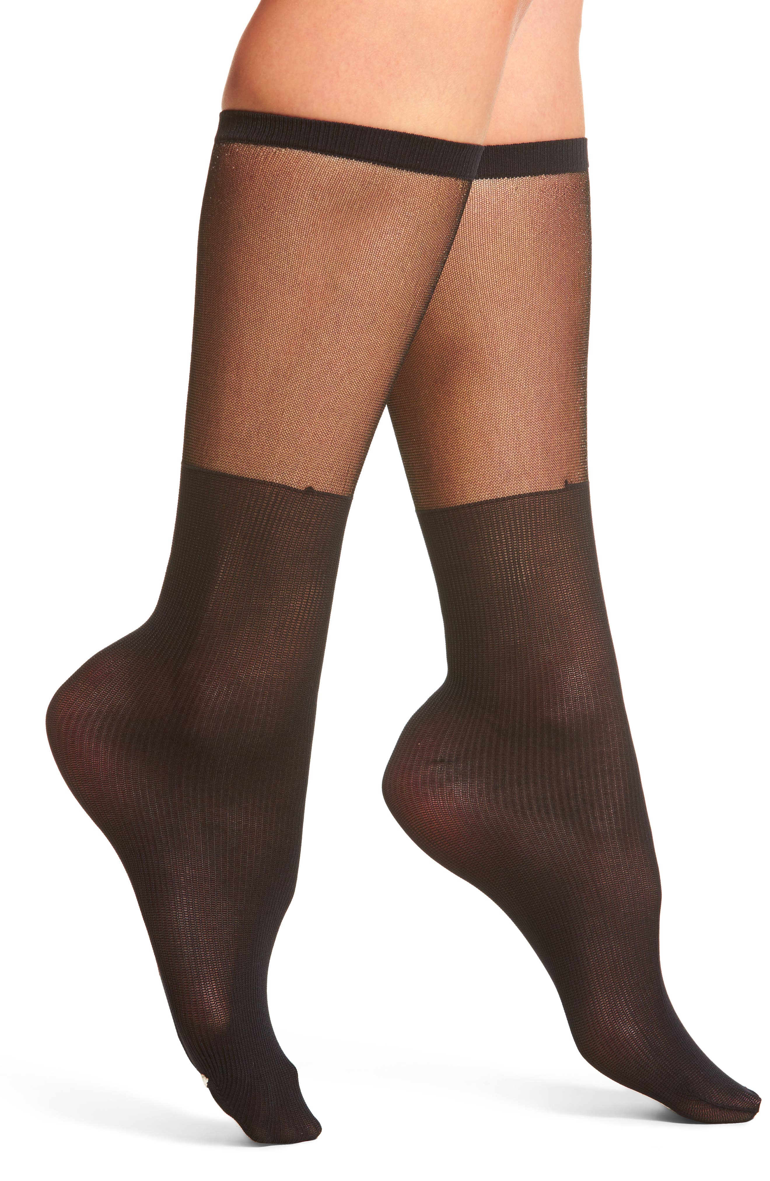 Marilu Socks,                         Main,                         color, Black