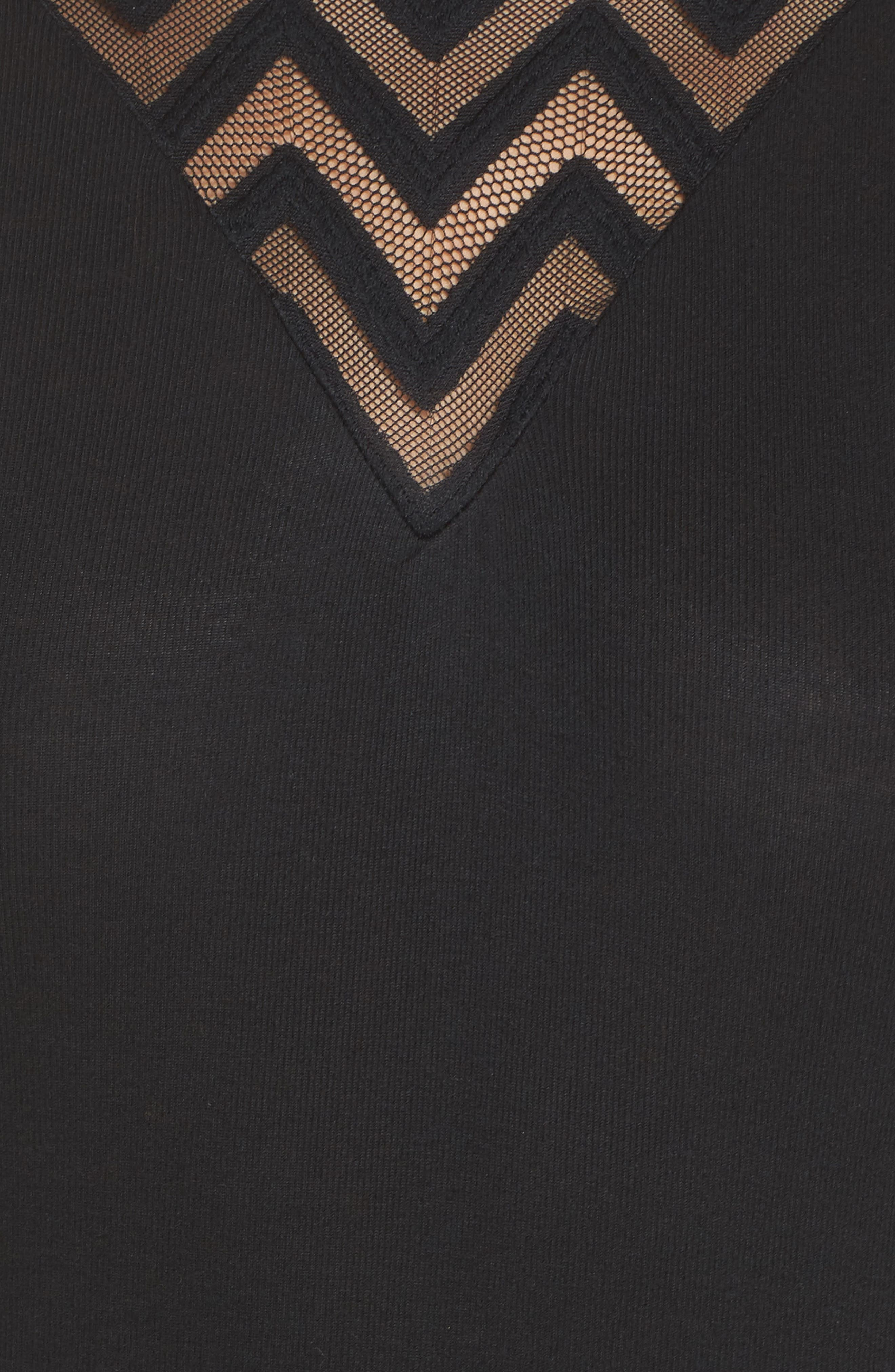 Alternate Image 6  - ELSE Modal & Cashmere Bodysuit