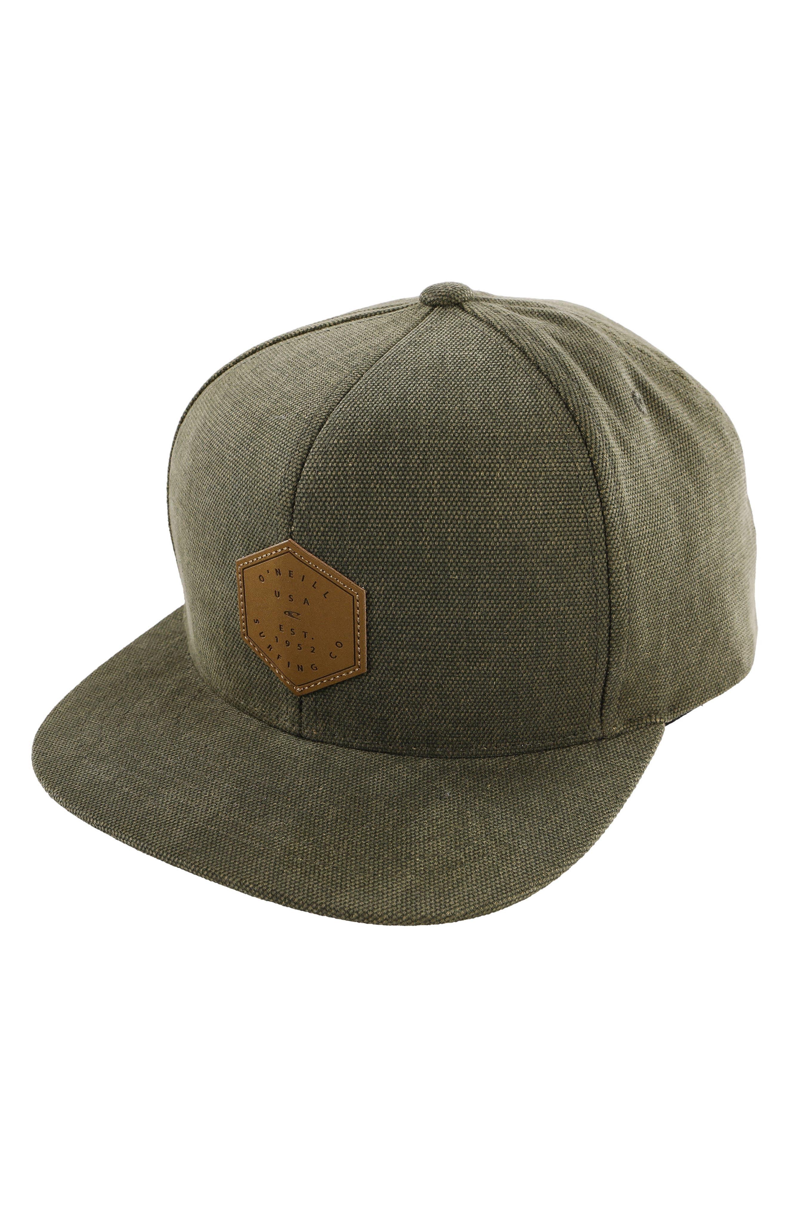 Lowtide Snapback Baseball Cap,                             Main thumbnail 1, color,                             Army