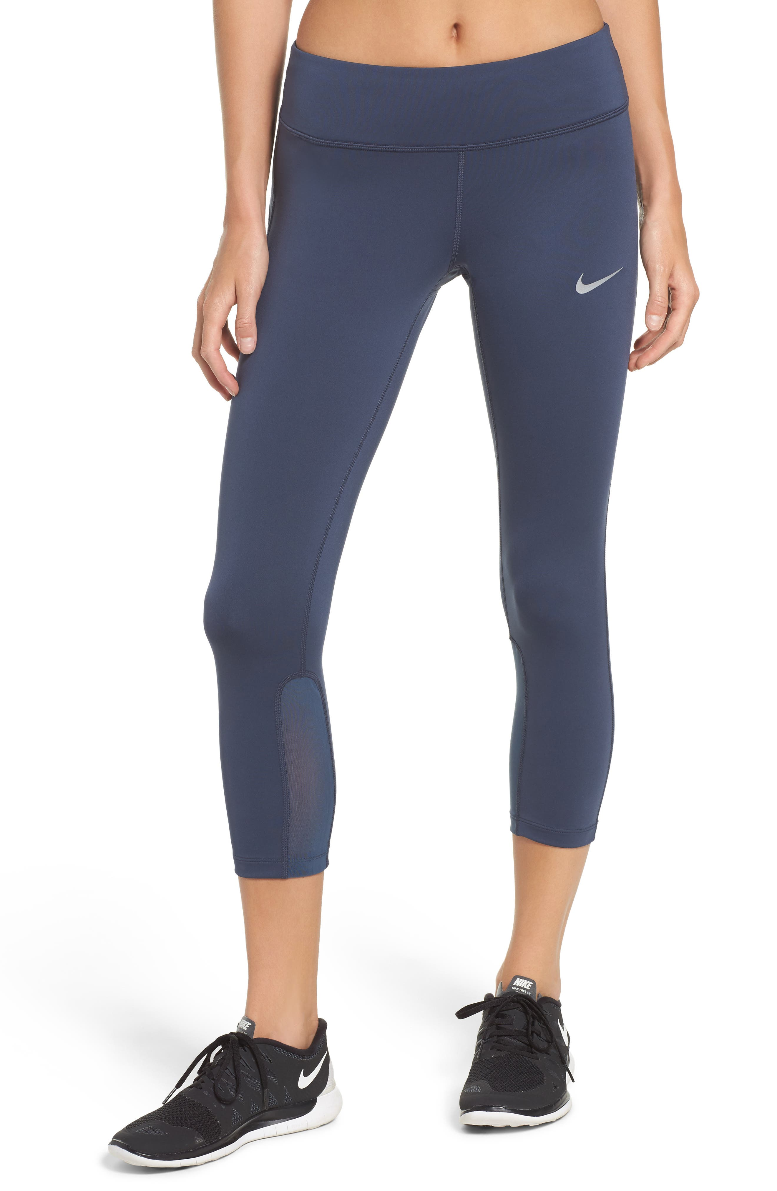 Alternate Image 1 Selected - Nike Power Epic Run Crop Tights