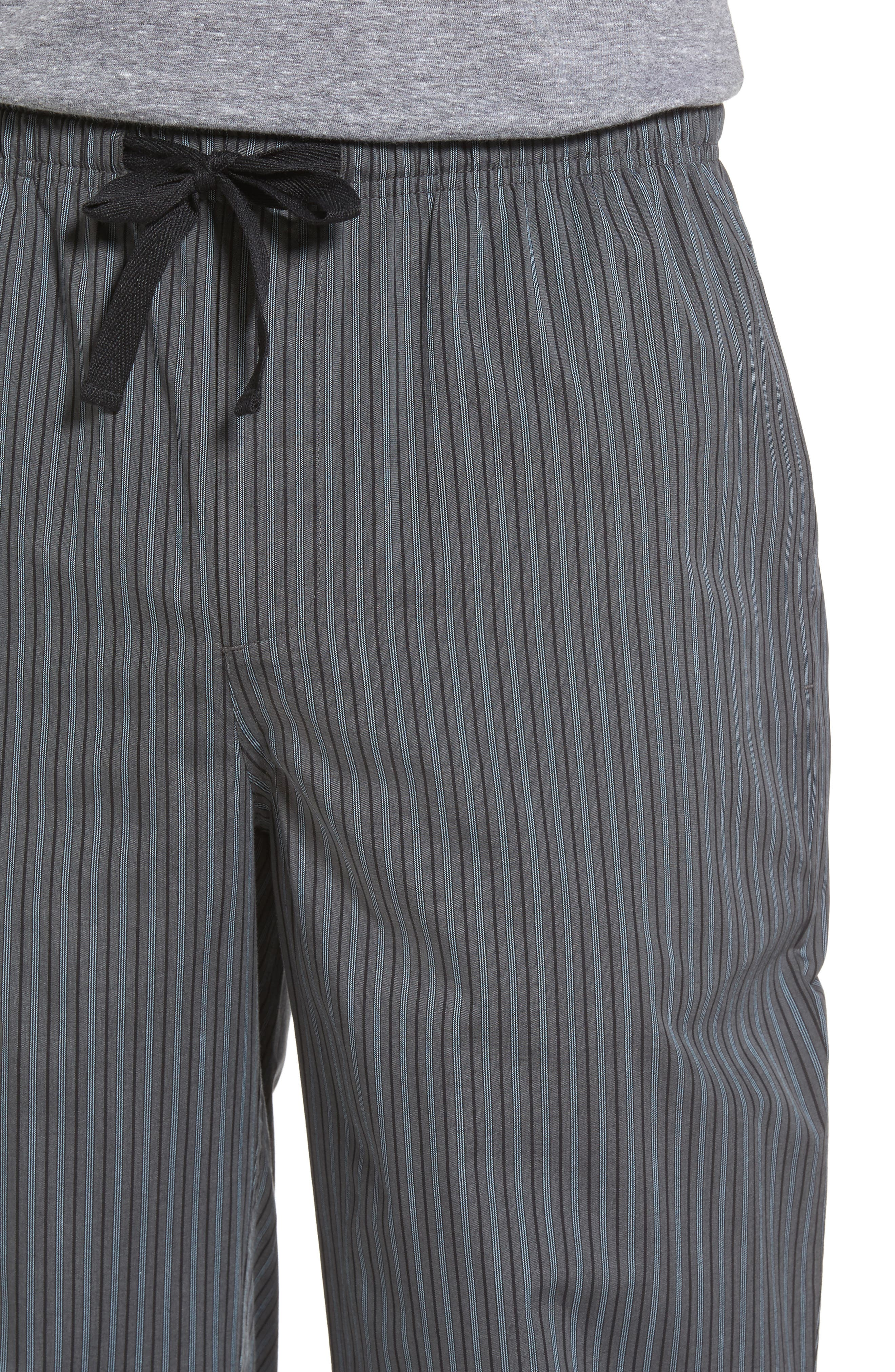 Alternate Image 4  - Nordstrom Men's Shop Poplin Lounge Pants