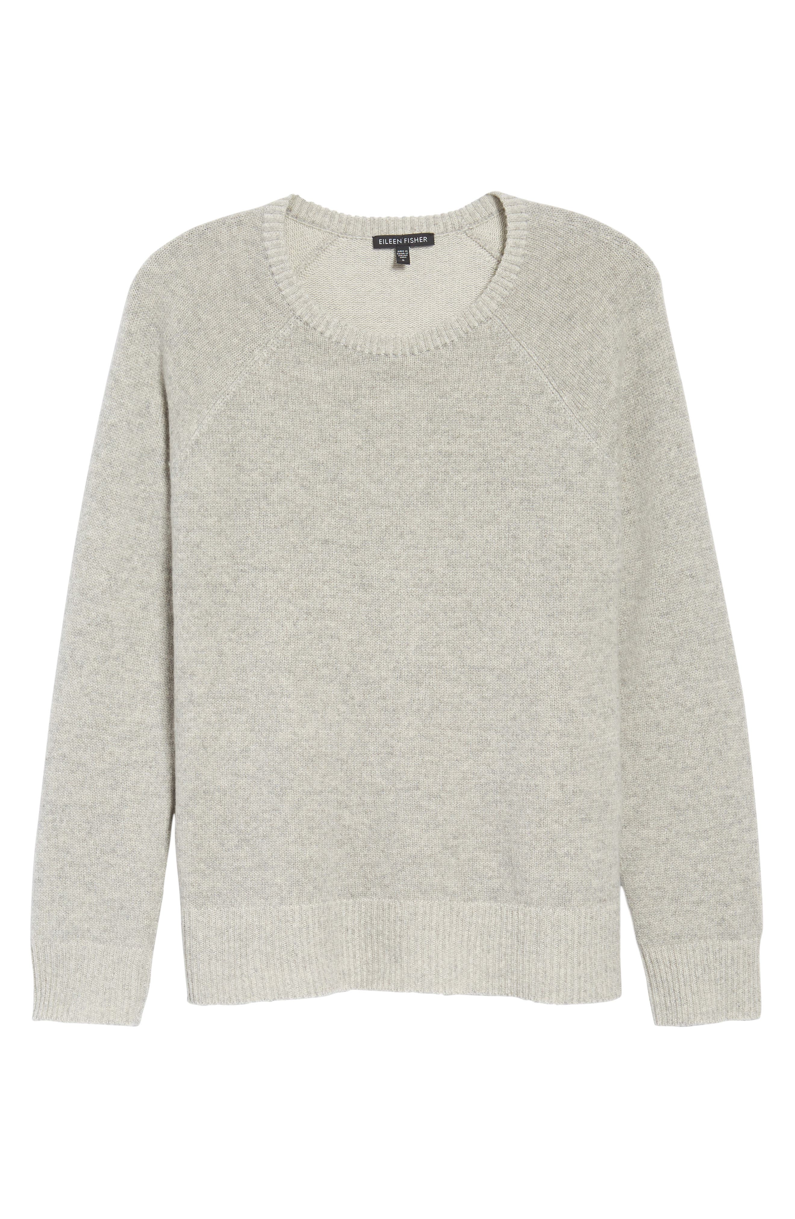 Alternate Image 6  - Eileen Fisher Cashmere Blend Sweater