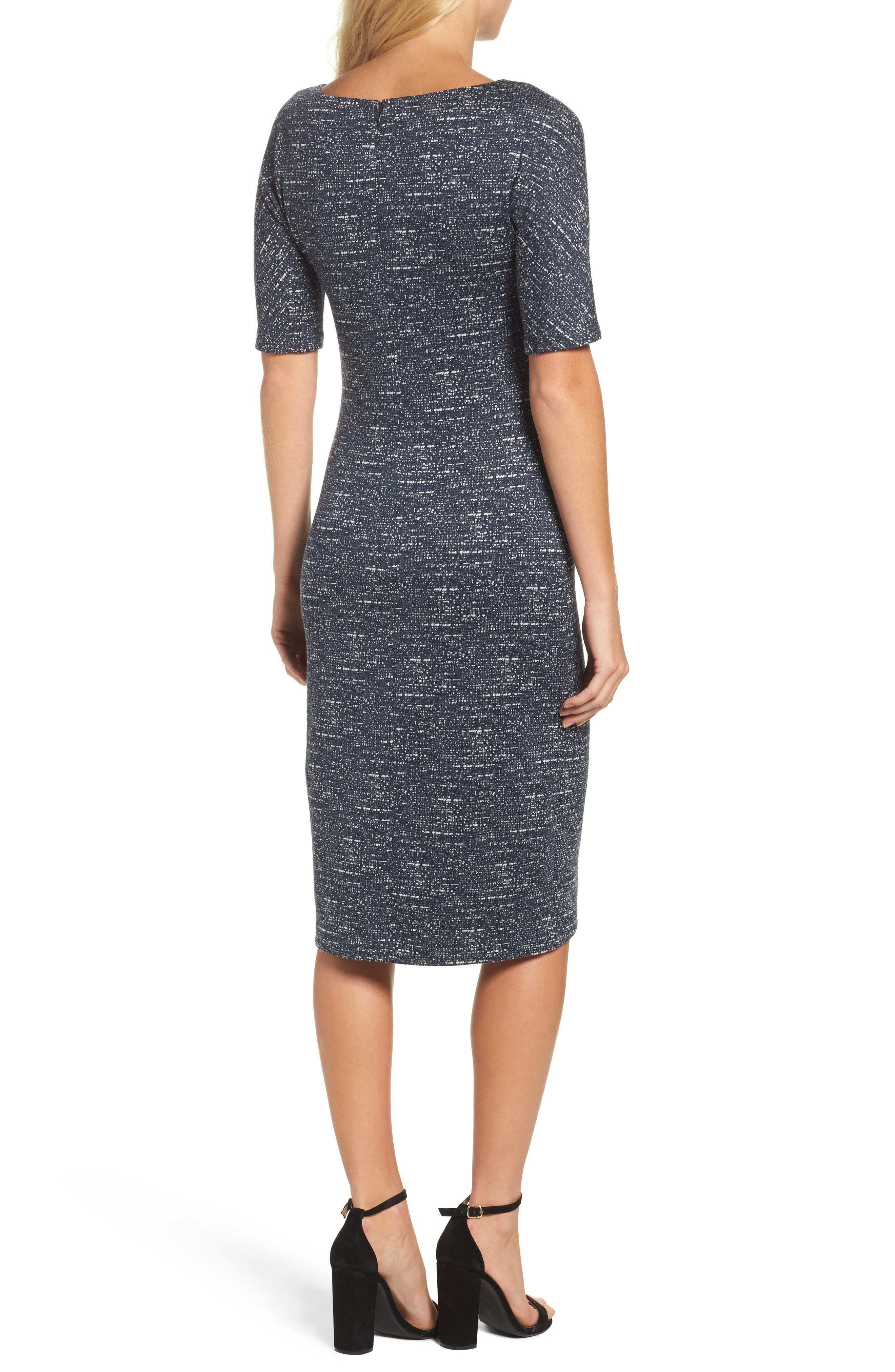 Alternate Image 2  - Maggy London Sheath Dress (Regular & Petite)