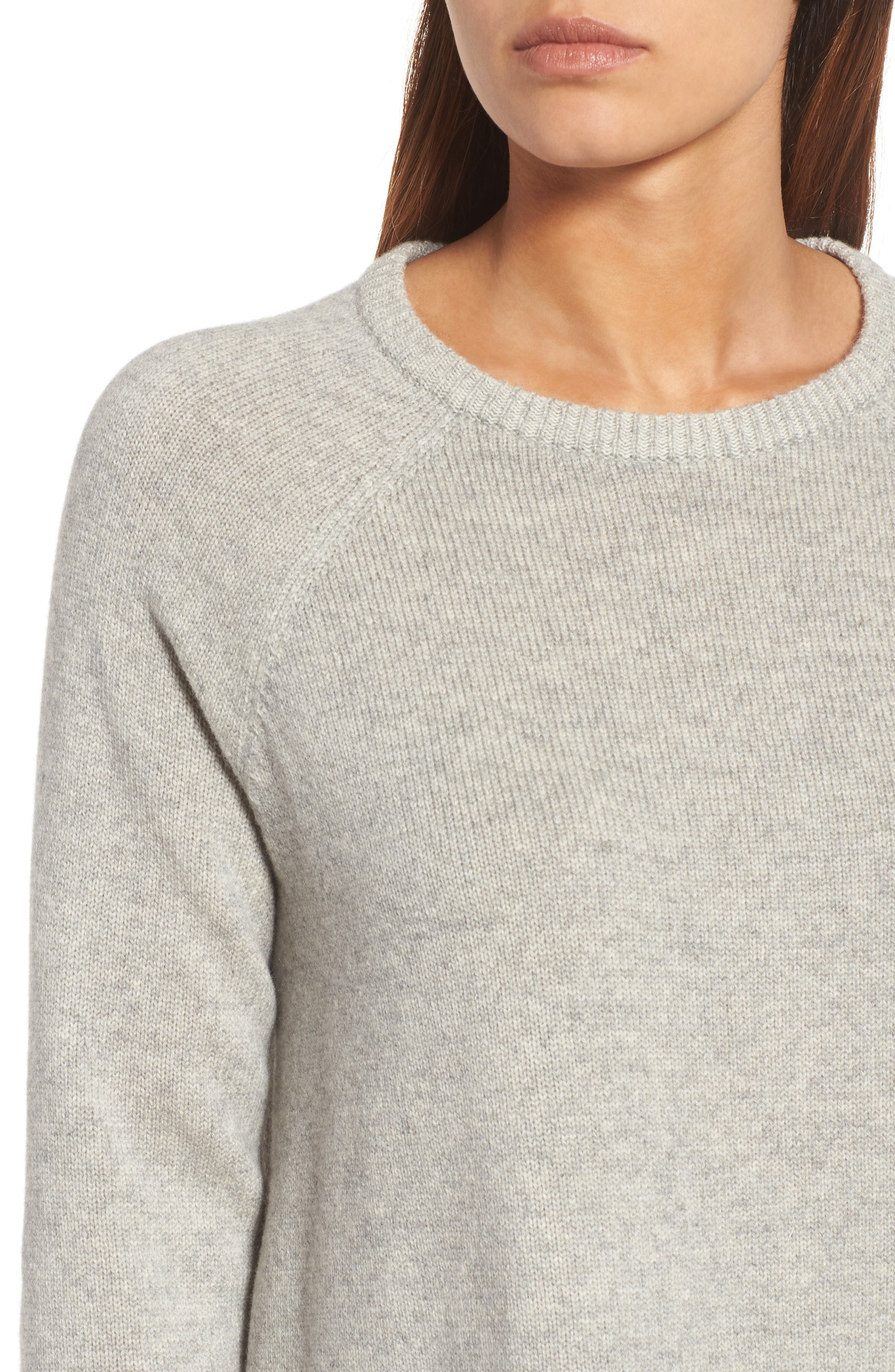 Alternate Image 4  - Eileen Fisher Cashmere Blend Sweater