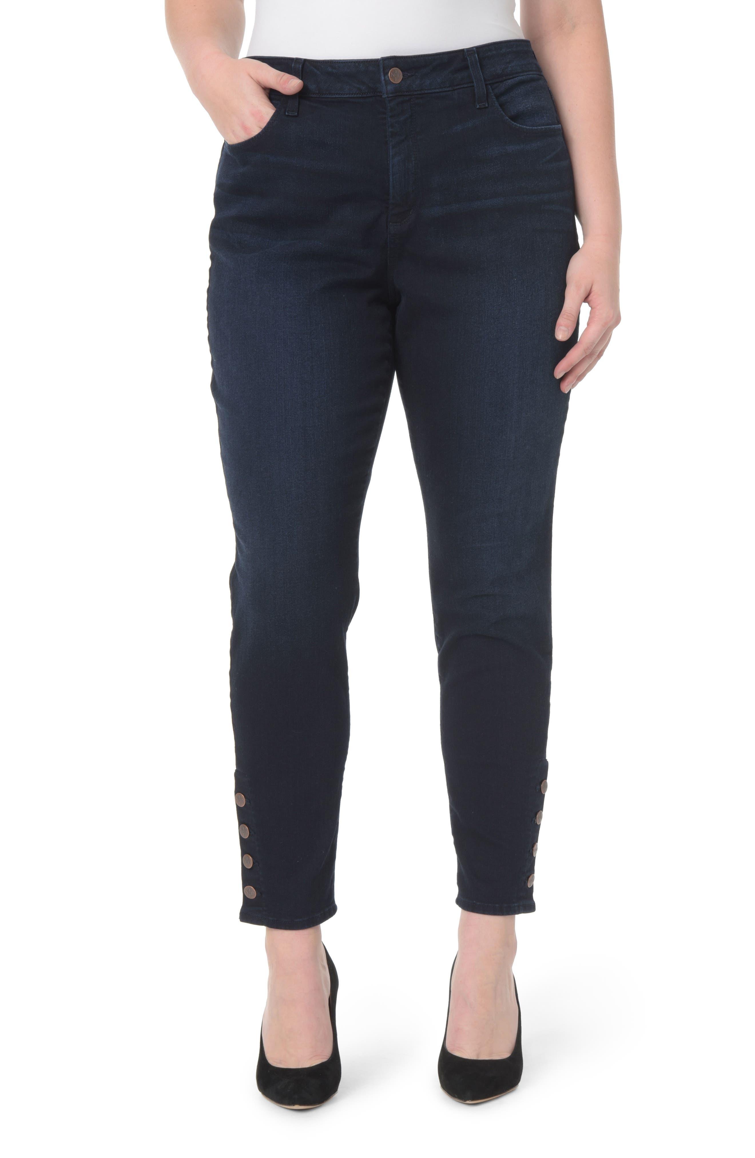 NYDJ Ami Stretch Super Skinny Jeans (Sinclair) (Plus Size)