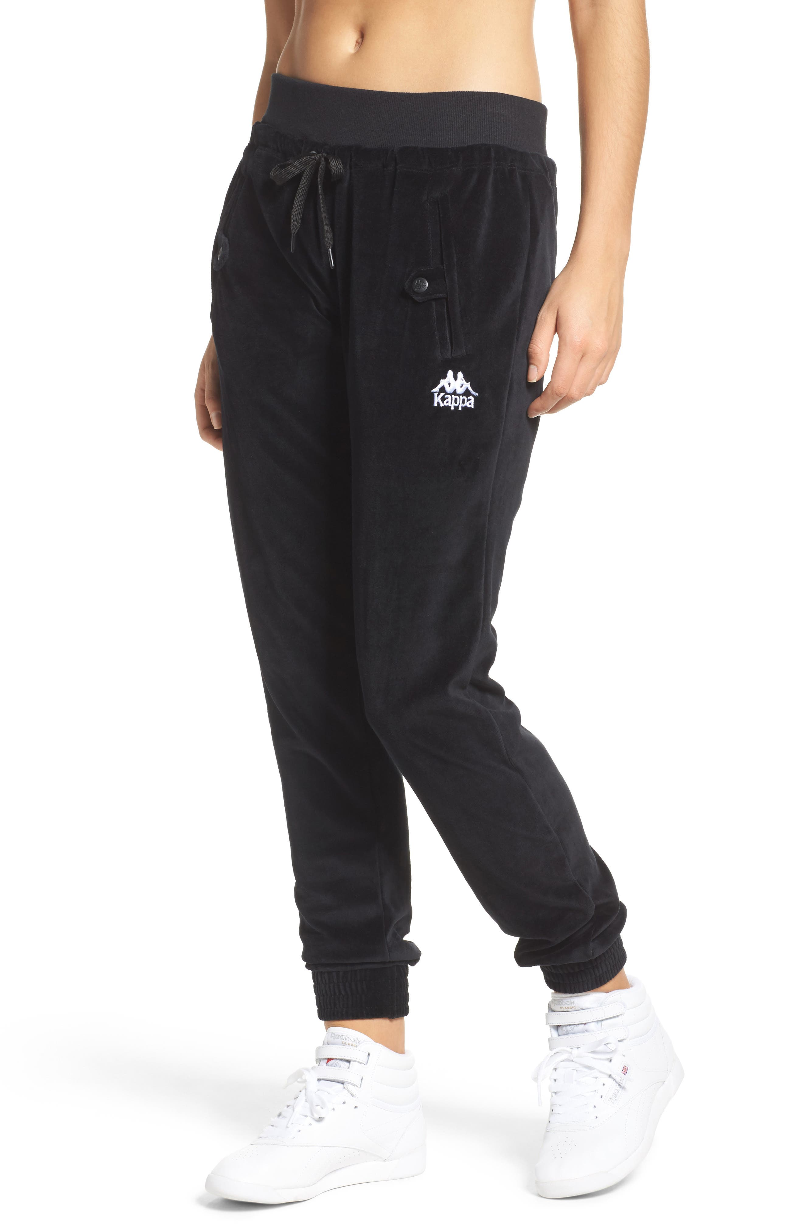 Authentic Screwball Track Pants,                         Main,                         color, Black