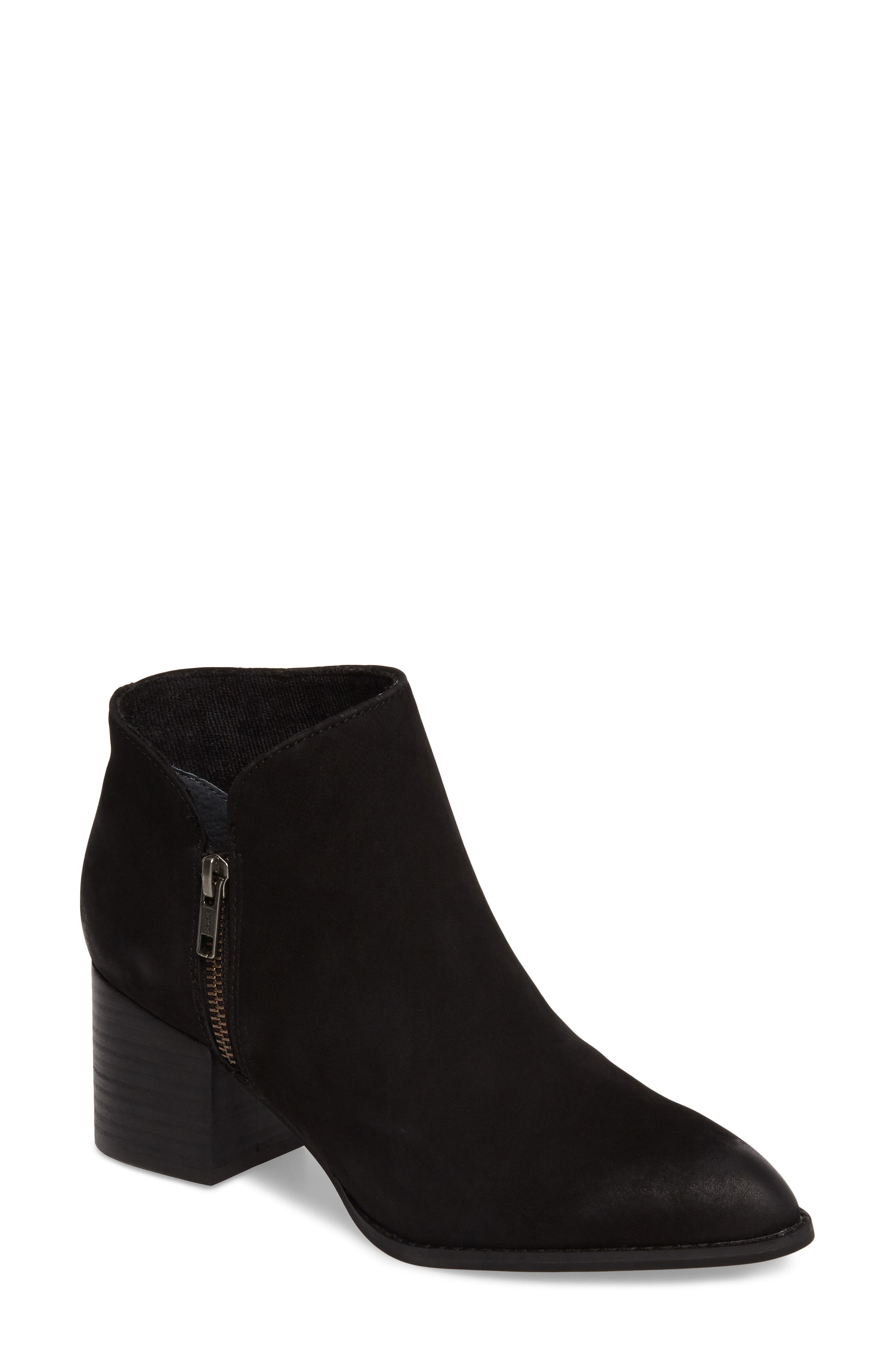 Chaparral Bootie,                             Main thumbnail 1, color,                             Black Leather