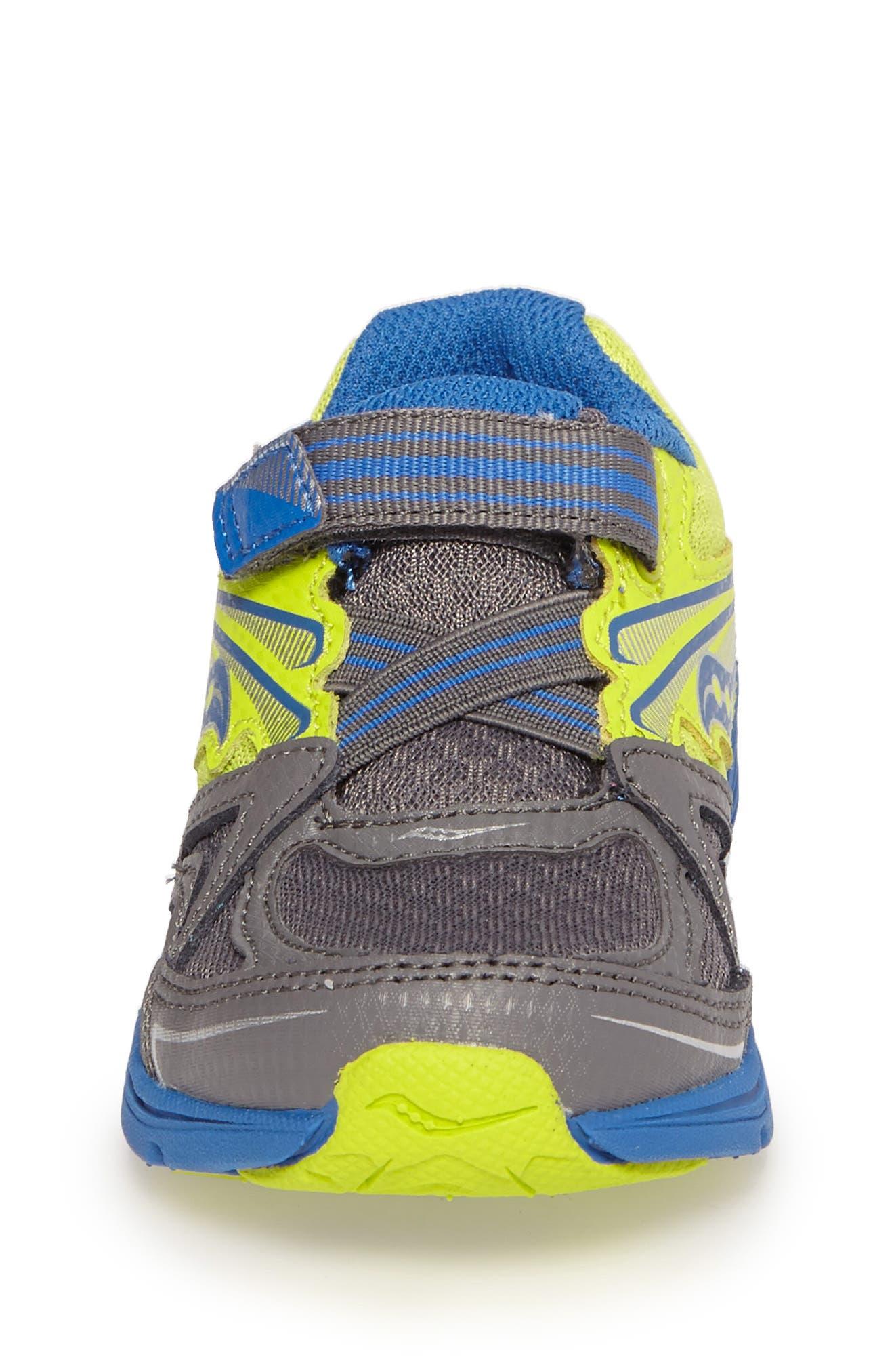 'Ride' Sneaker,                             Alternate thumbnail 4, color,                             Grey/ Lime