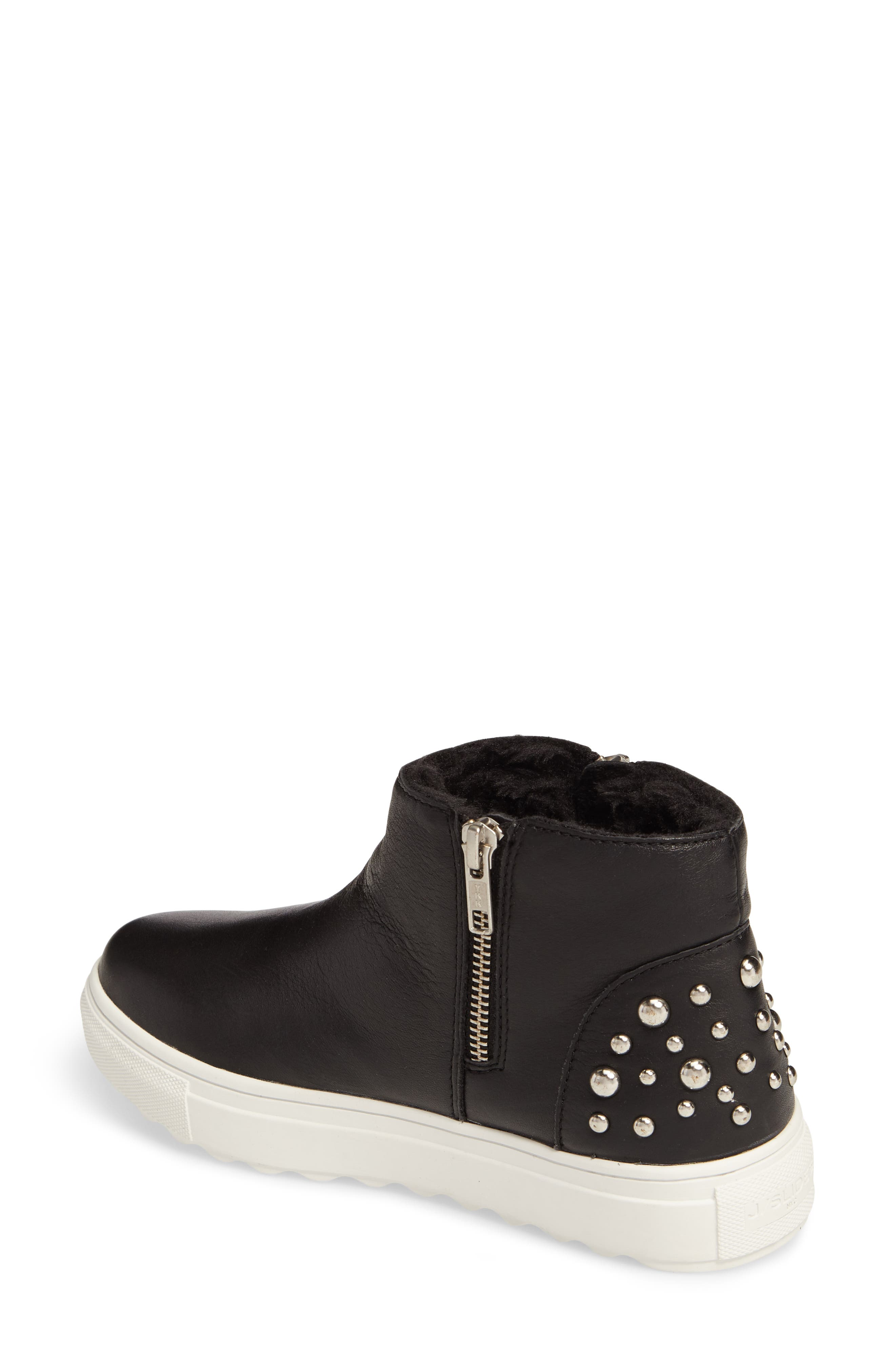 Pele Boot,                             Alternate thumbnail 2, color,                             Black Leather