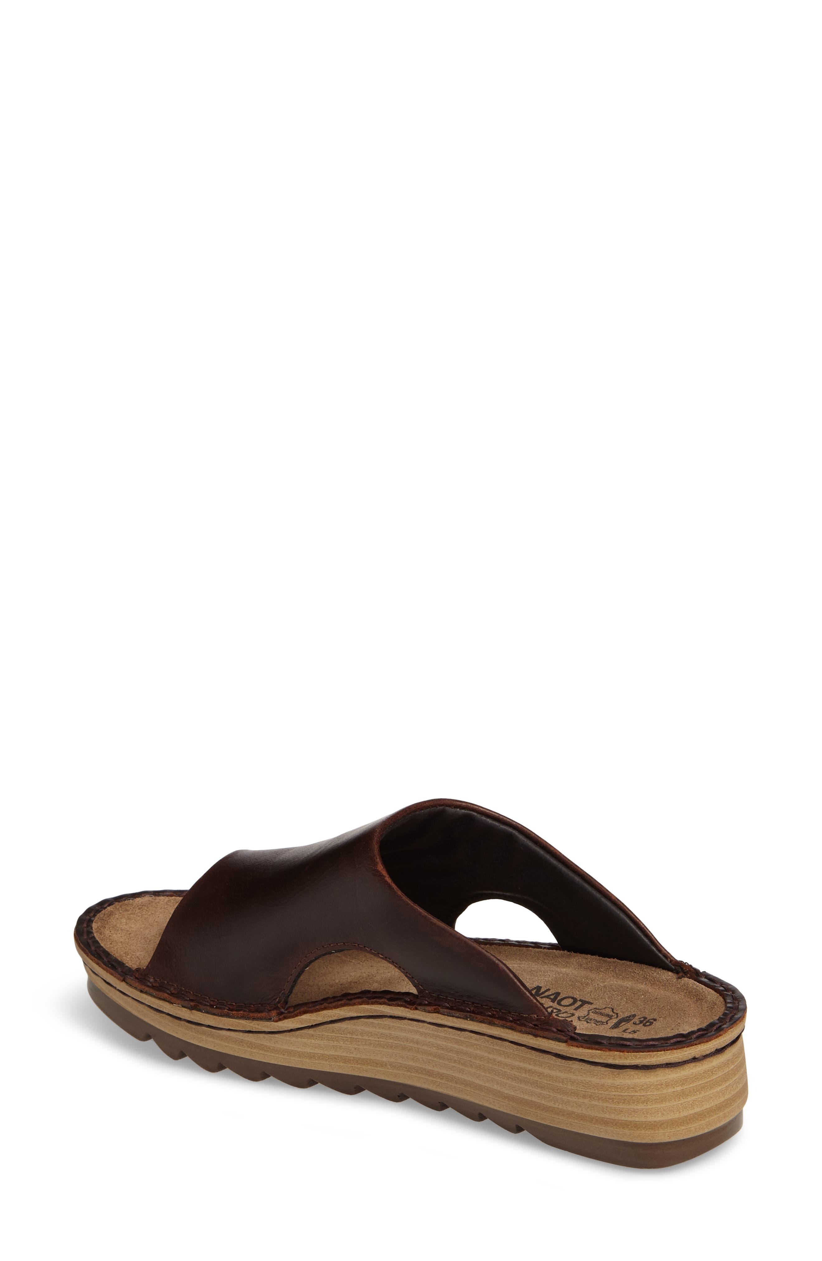 'Ardisia' Slide Sandal,                             Alternate thumbnail 2, color,                             Buffalo Leather