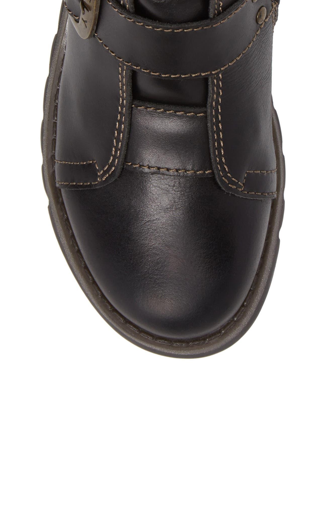 Scop Boot,                             Alternate thumbnail 5, color,                             Black Leather