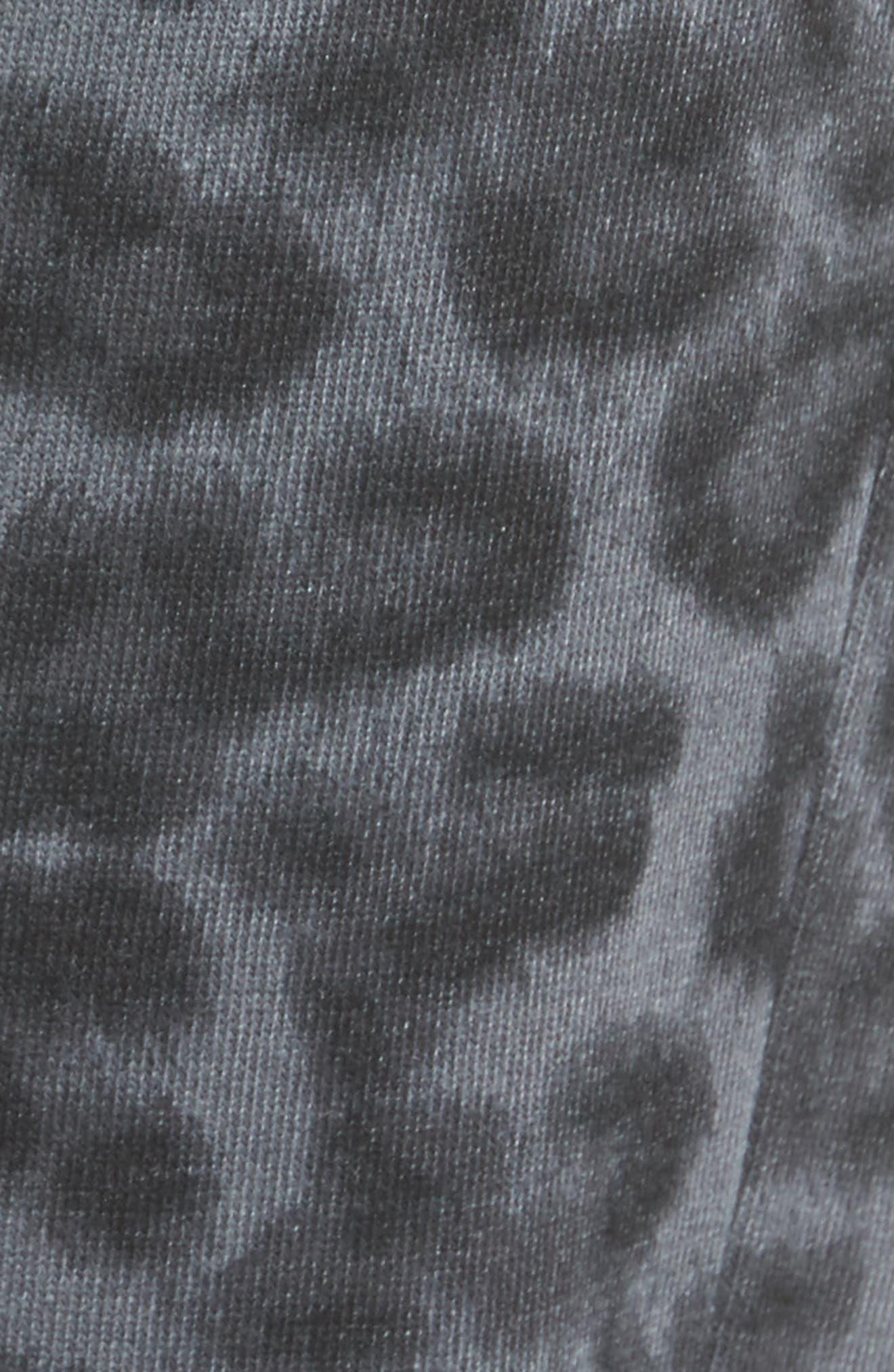Leopard Print Jogger Pants,                             Alternate thumbnail 5, color,                             Lead