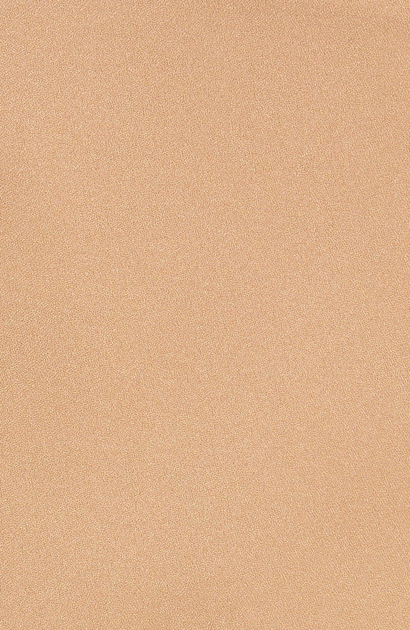 Grommet Mini Skort,                             Alternate thumbnail 5, color,                             Camel