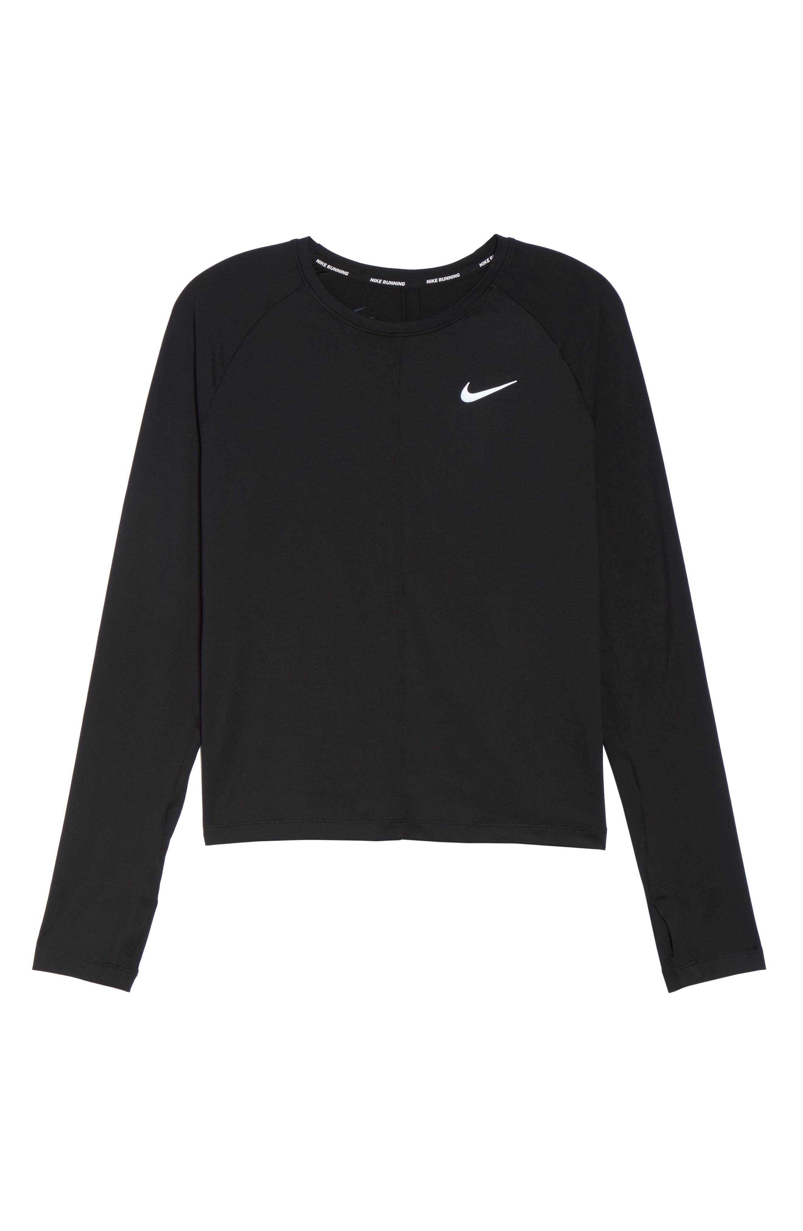Alternate Image 6  - Nike Dry Element Crop Top