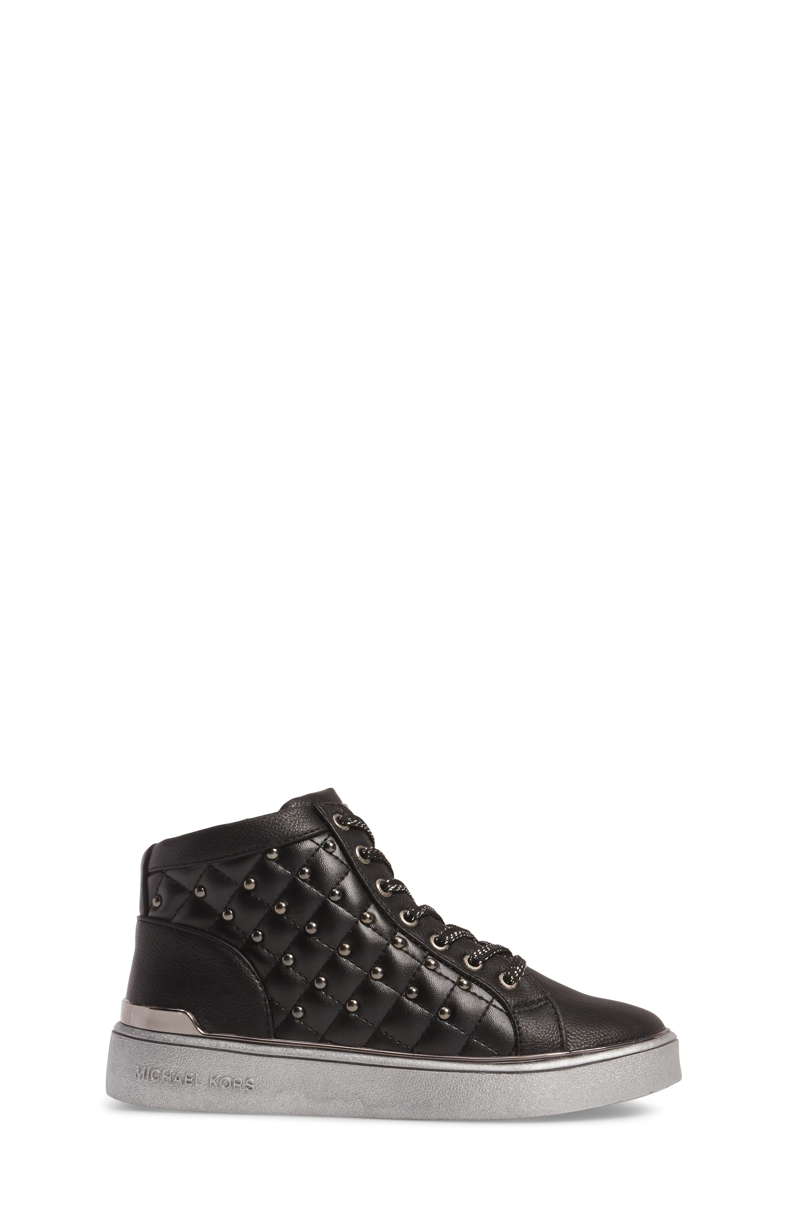 Ivy Rome Sneaker,                             Alternate thumbnail 3, color,                             Black