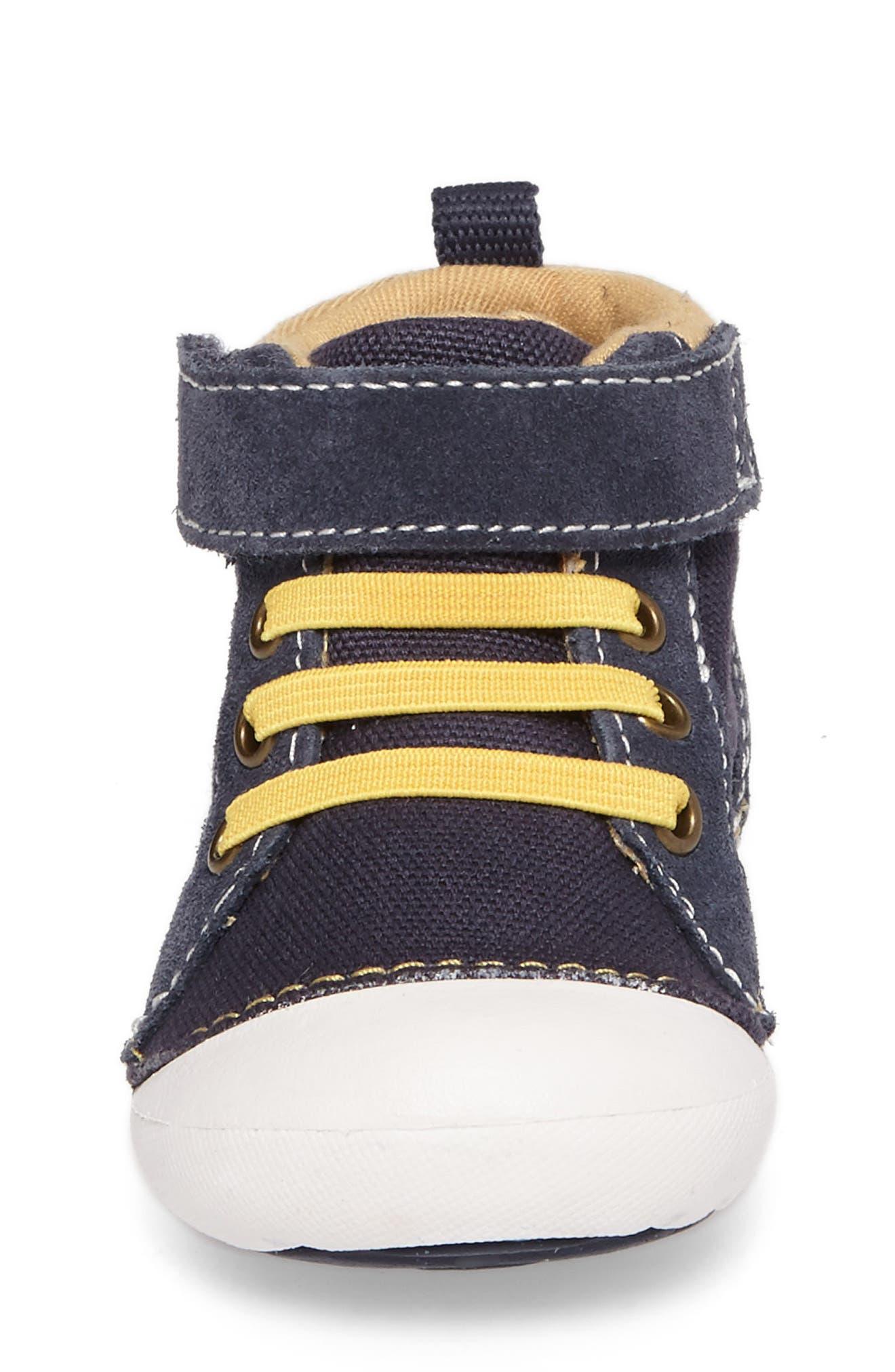 Soft Motion Danny Sneaker,                             Alternate thumbnail 4, color,                             Navy