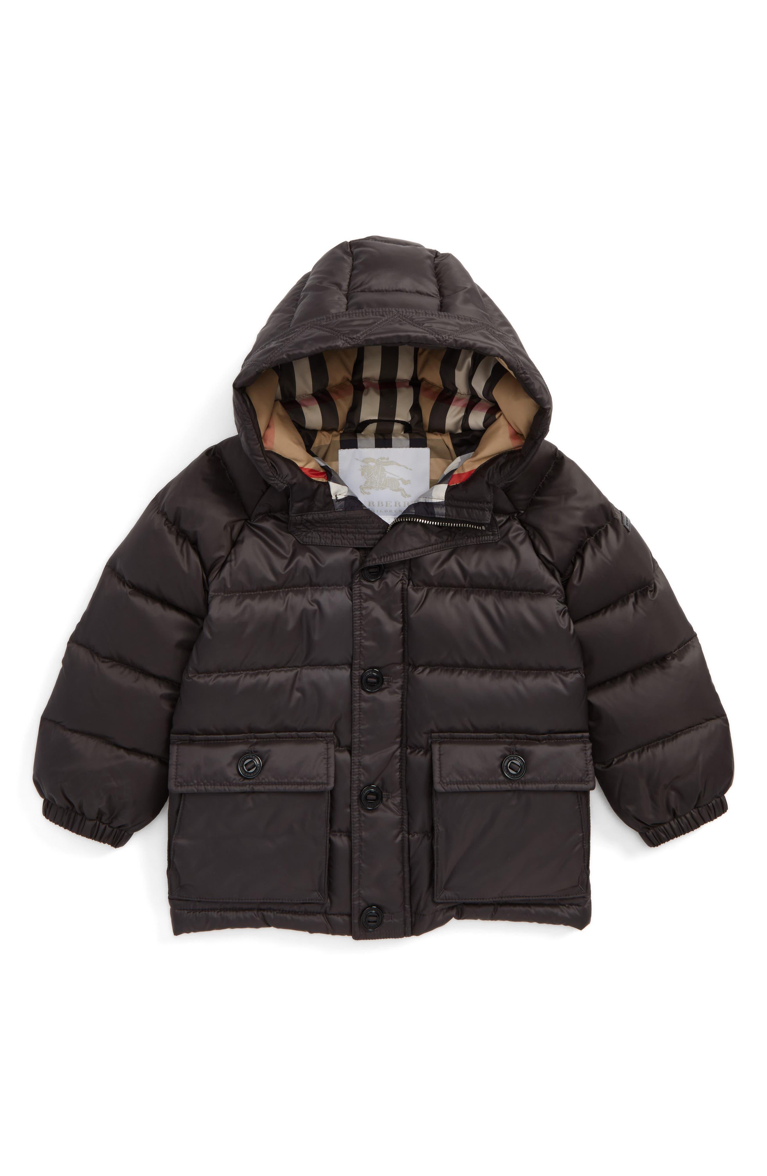 burberry hoodie brown
