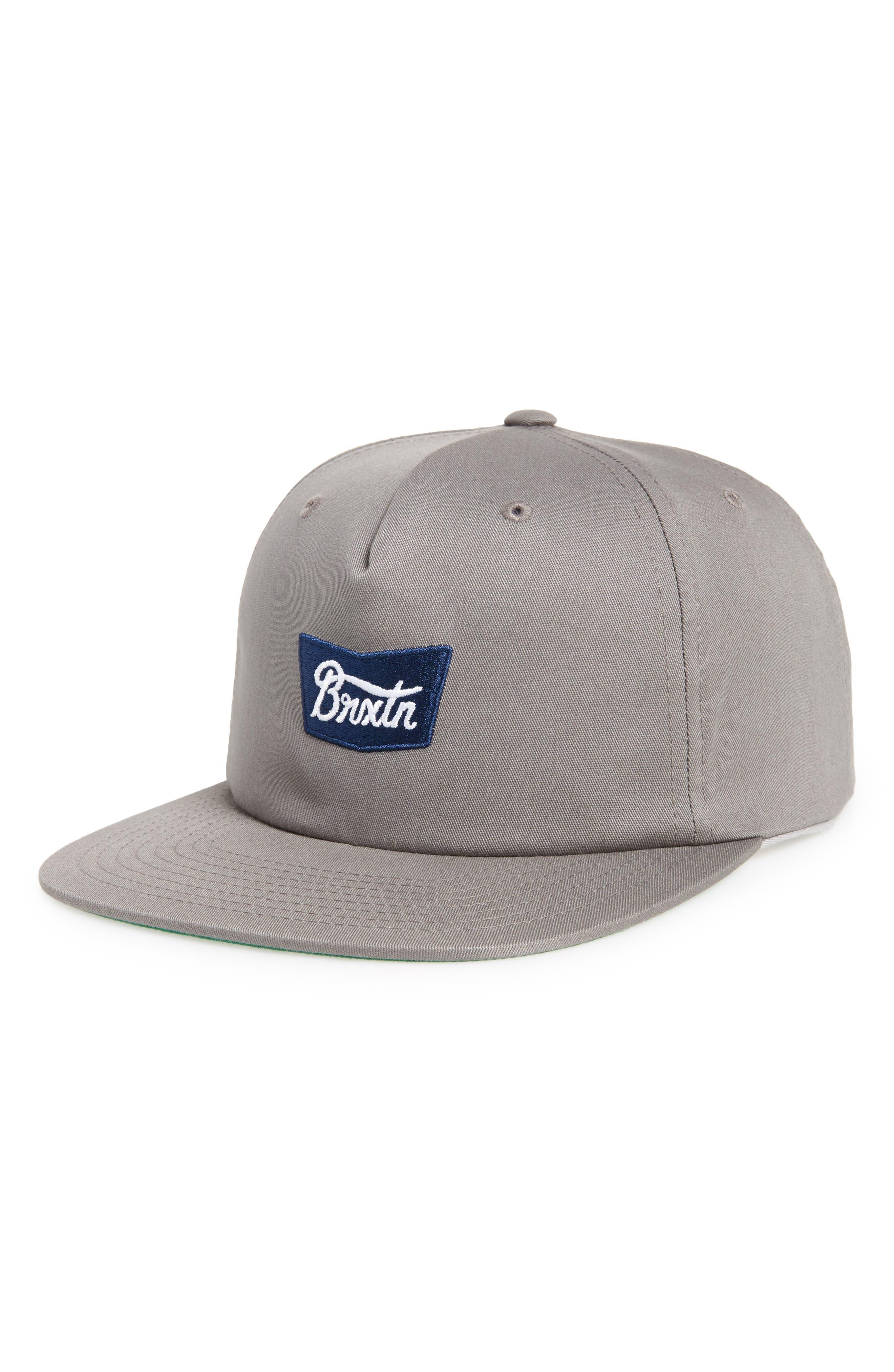 BRIXTON Snapback Baseball Cap