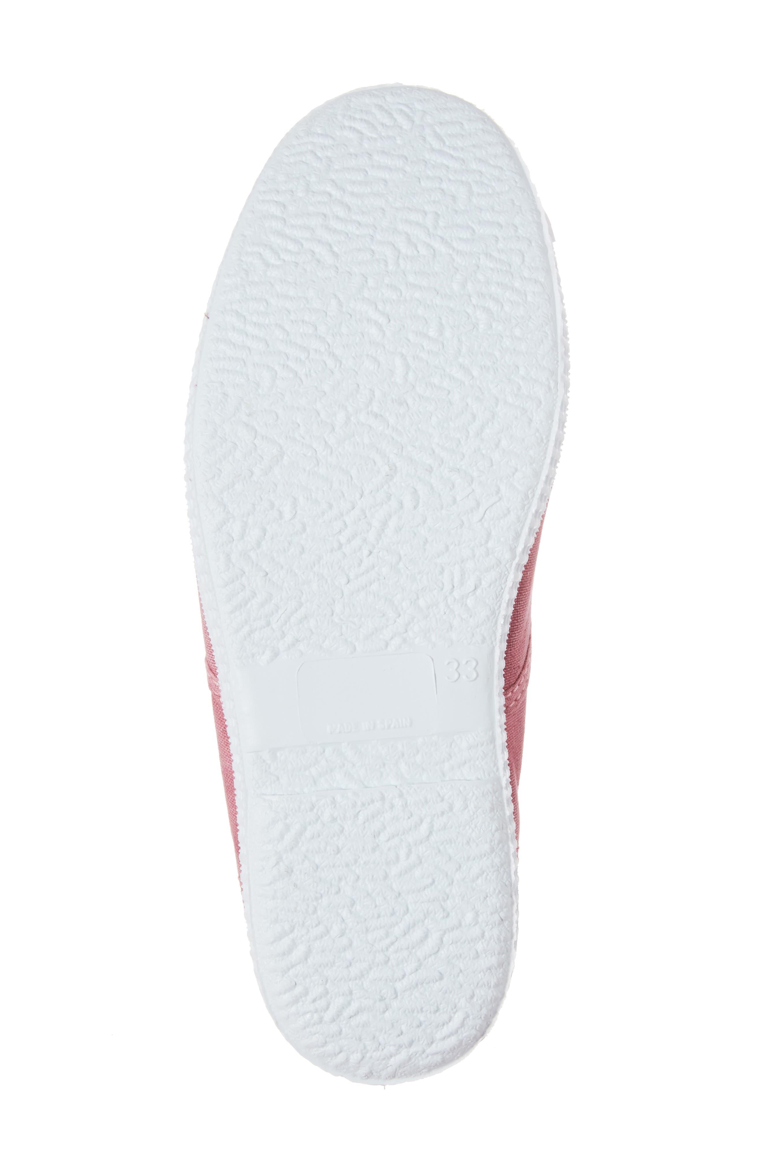 Laceless Slip-On Sneaker,                             Alternate thumbnail 6, color,                             Pink