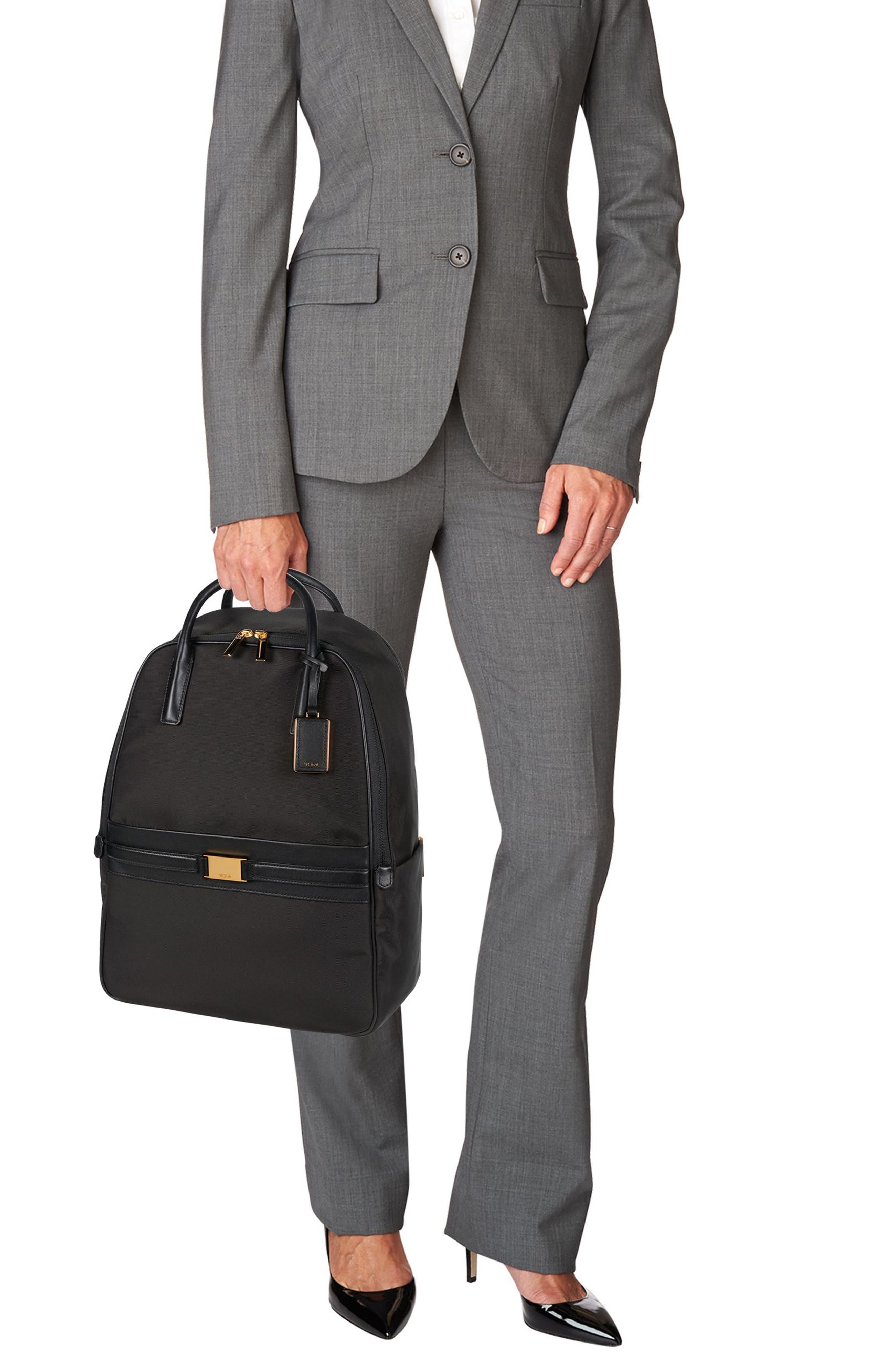 Larkin - Paterson Convertible Nylon Backpack,                             Alternate thumbnail 2, color,                             Black