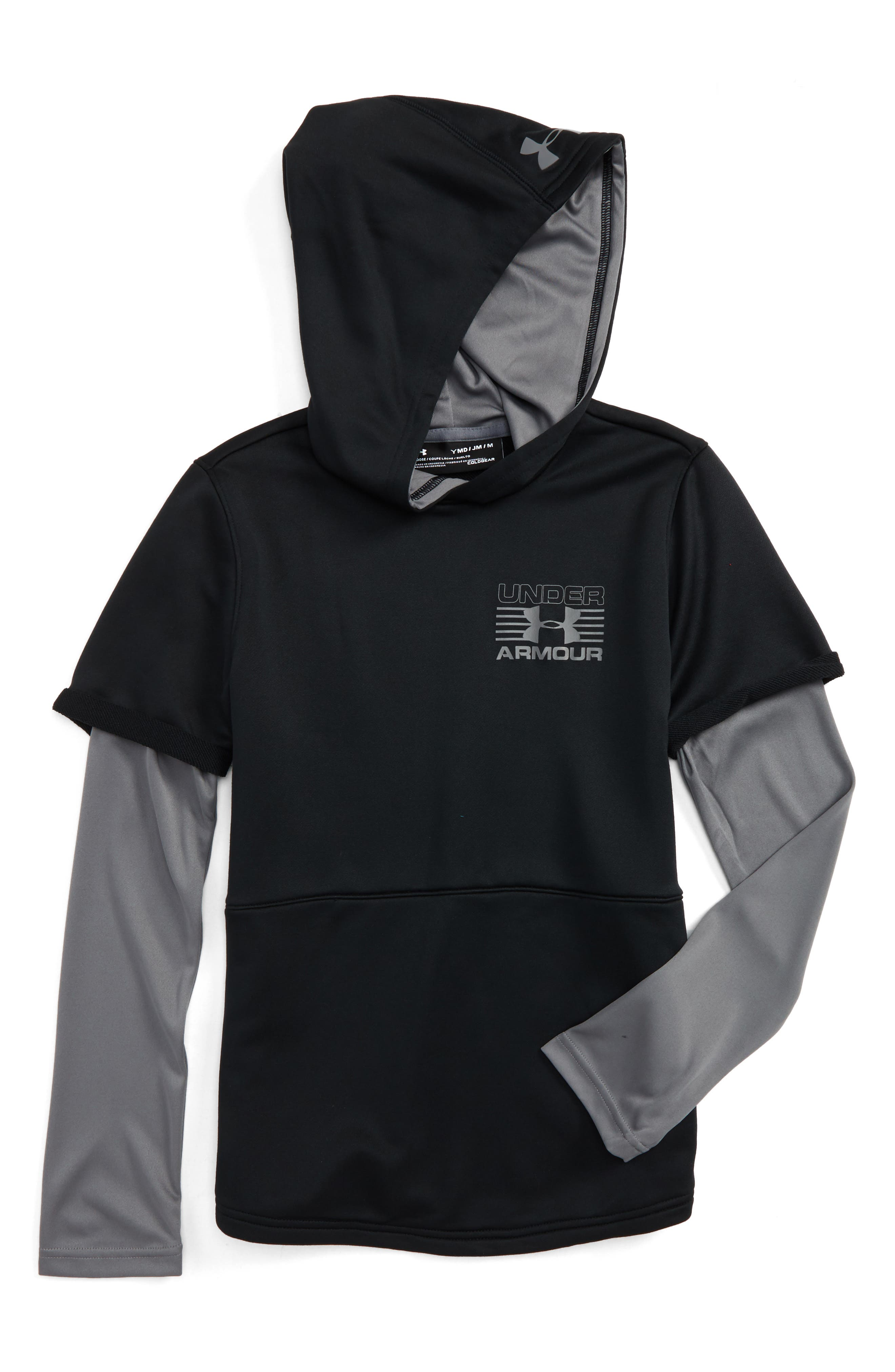 Under Armour Train to Game Layered ColdGear® Hoodie (Little Boys & Big Boys)