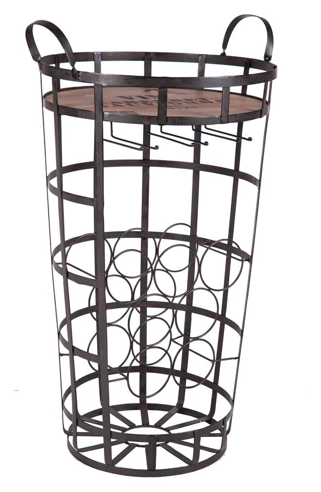 Alternate Image 2  - Foreside Bar Cart & Wine Rack