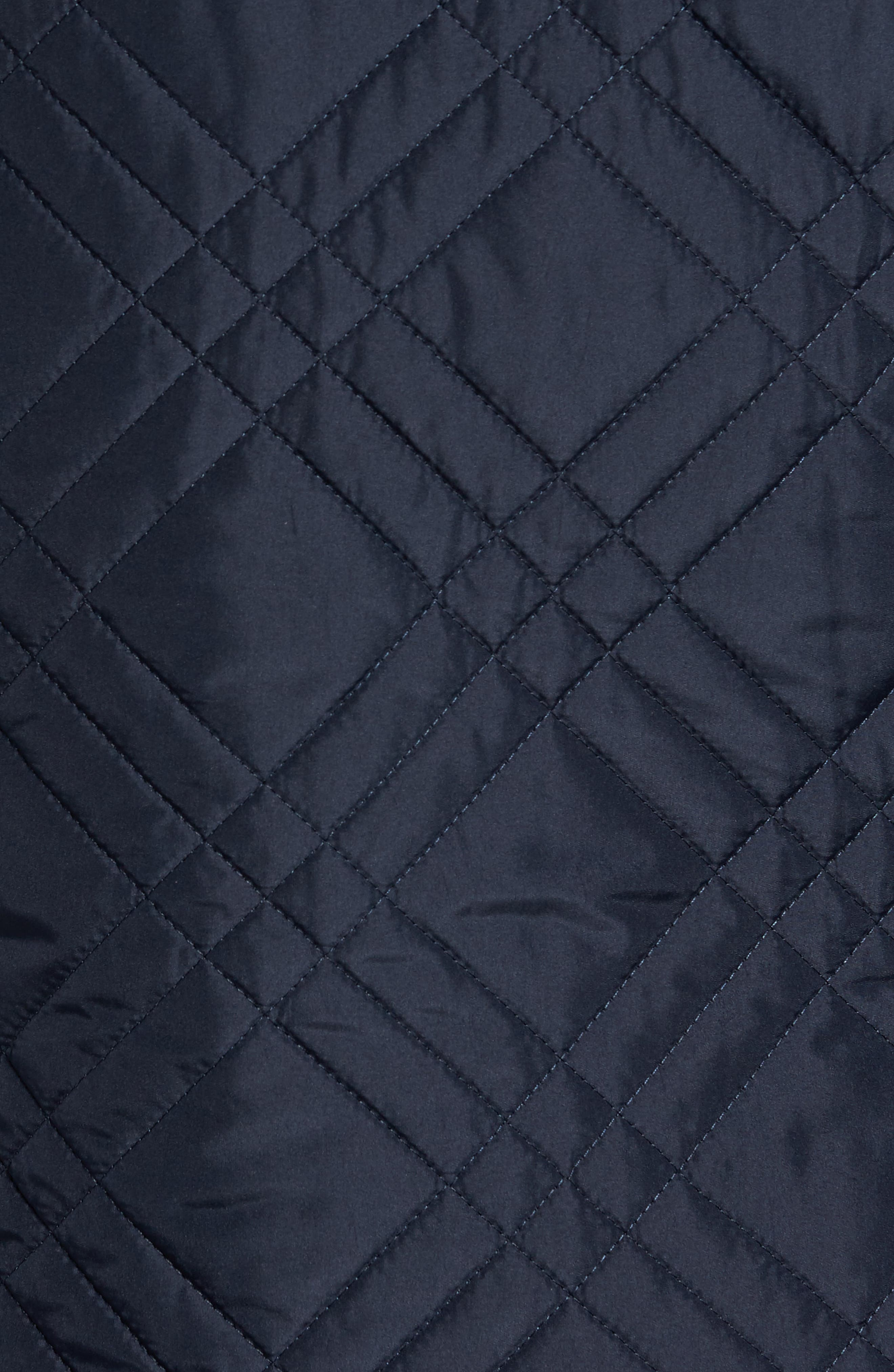 Quilted Field Jacket,                             Alternate thumbnail 5, color,                             Blue Navy