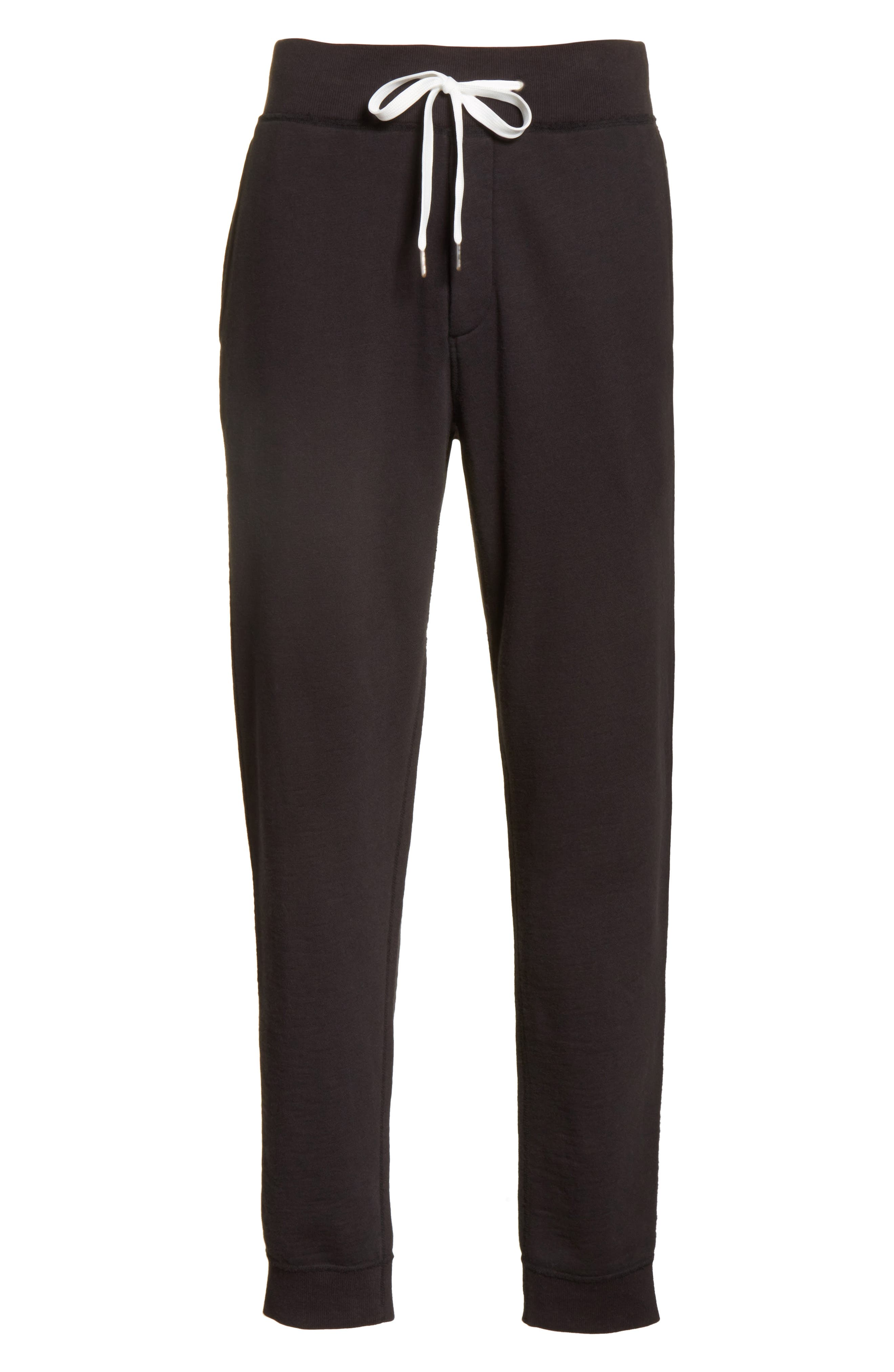 Standard Issue Sweatpants,                             Alternate thumbnail 6, color,                             Black