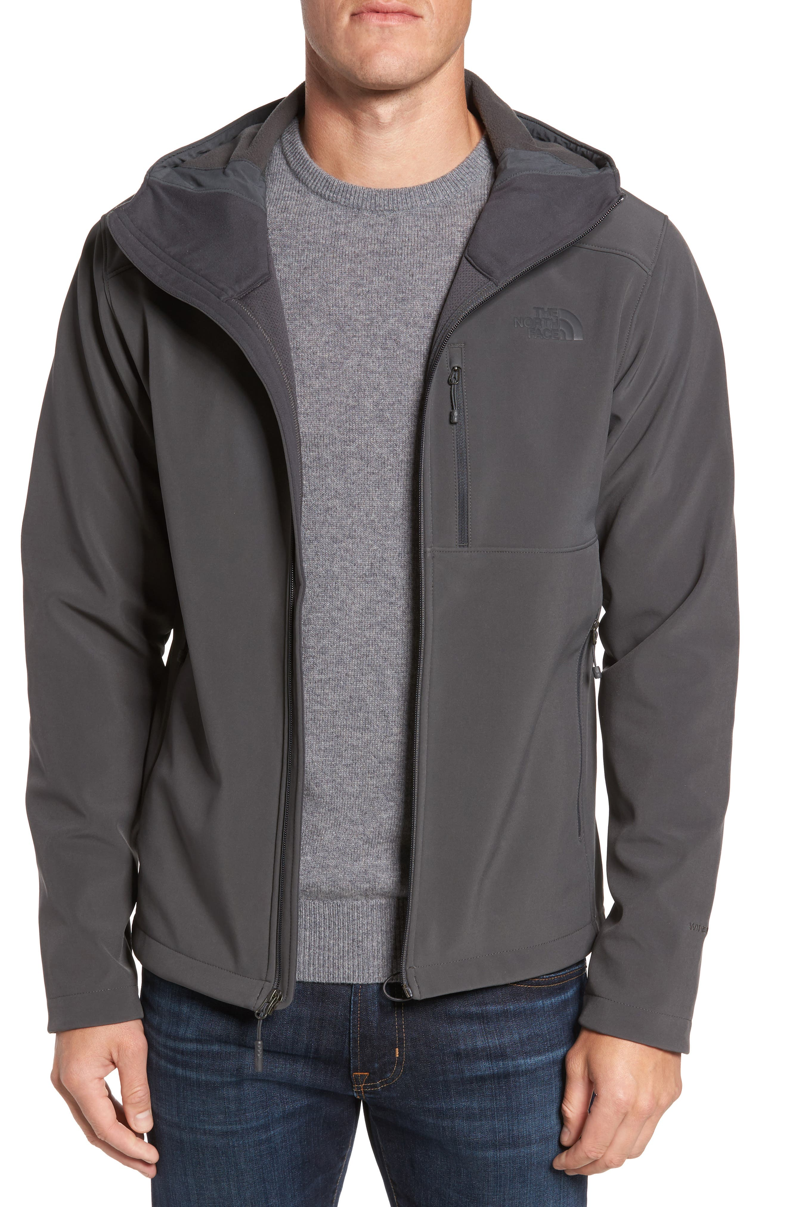 Apex Bionic 2 Water Repellent Jacket,                         Main,                         color, Grey