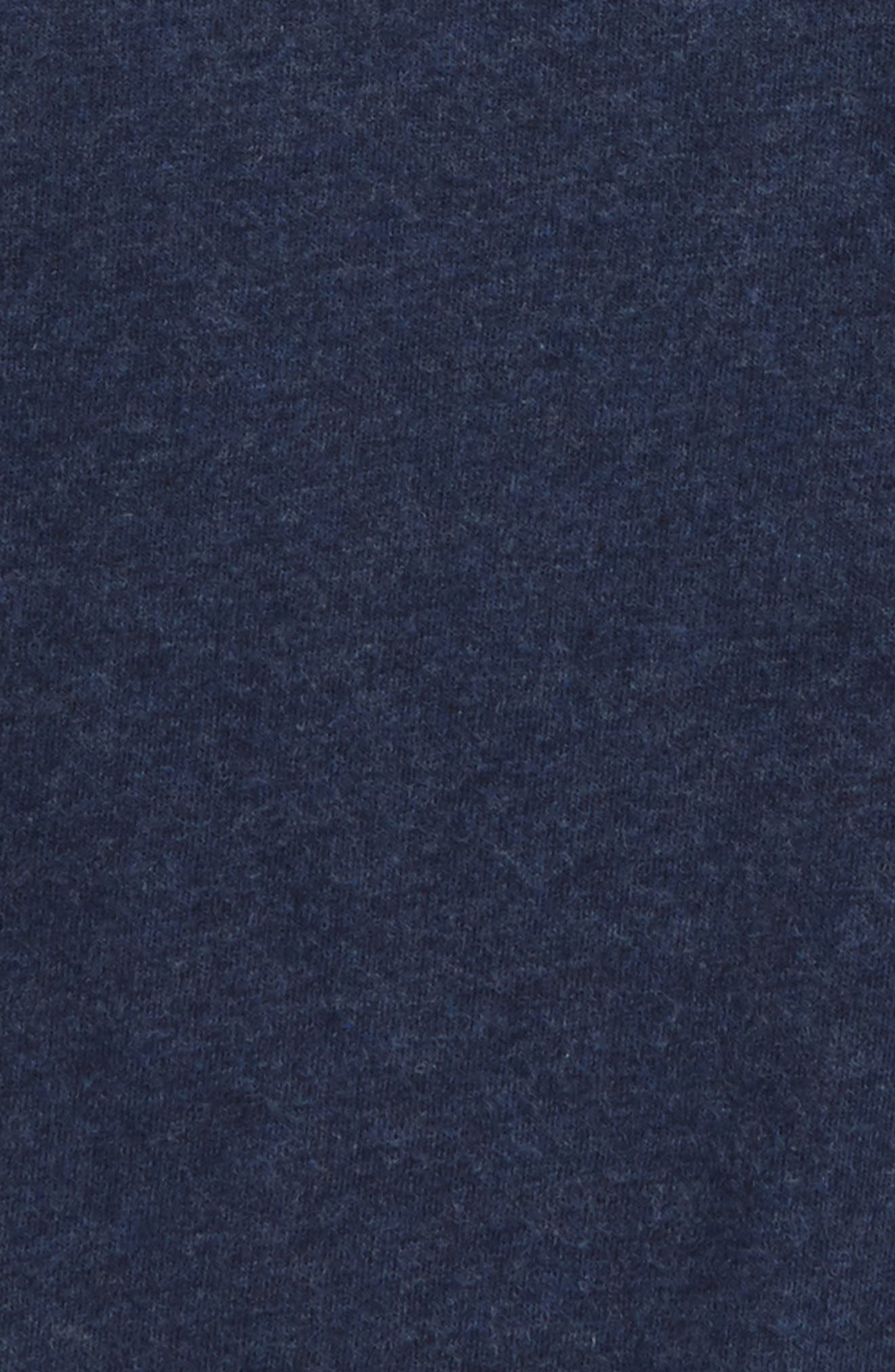 Supersoft Solid T-Shirt,                             Alternate thumbnail 2, color,                             Navy Marl