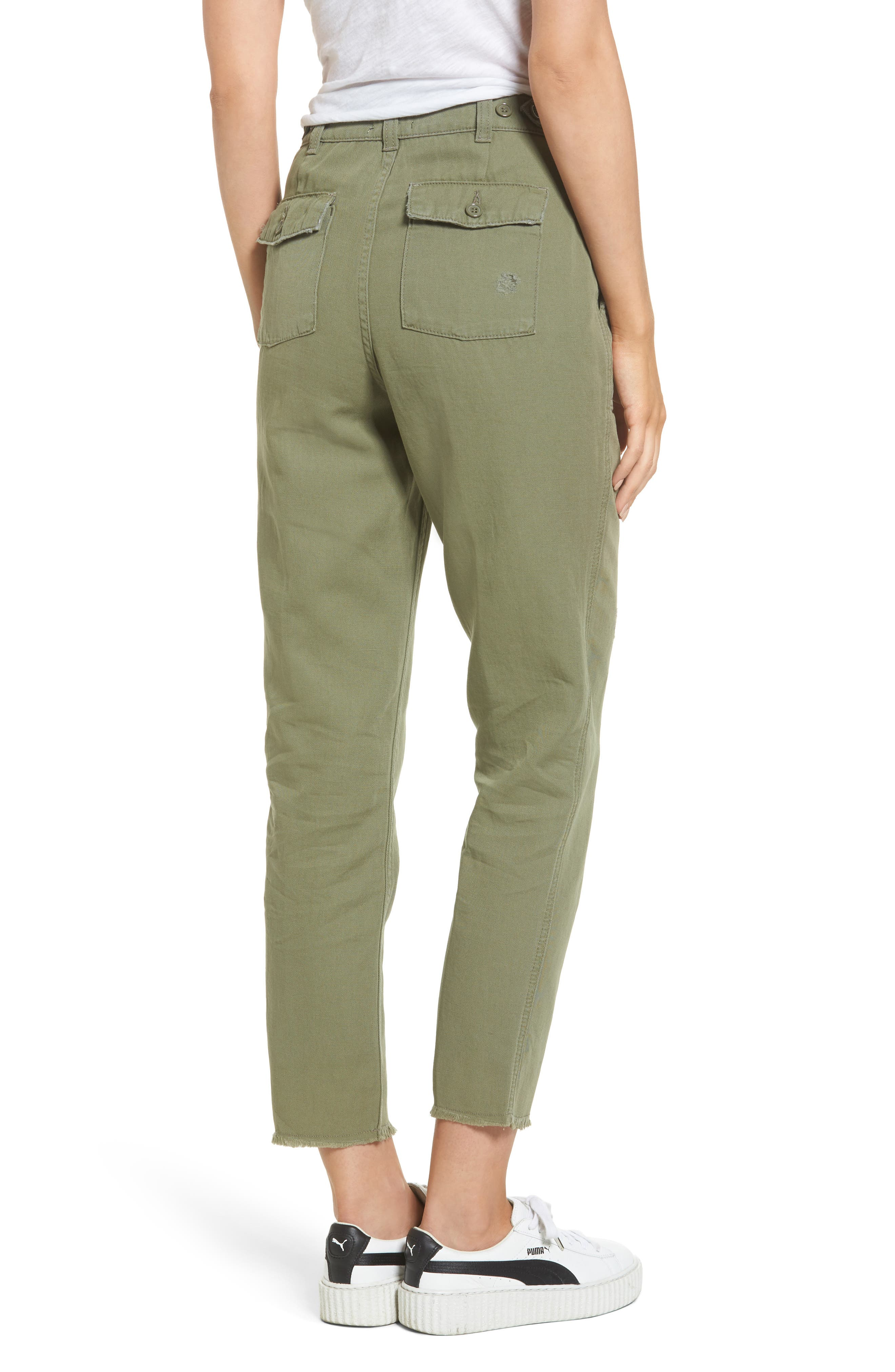 Alternate Image 2  - Topshop Luca Ulility Trousers