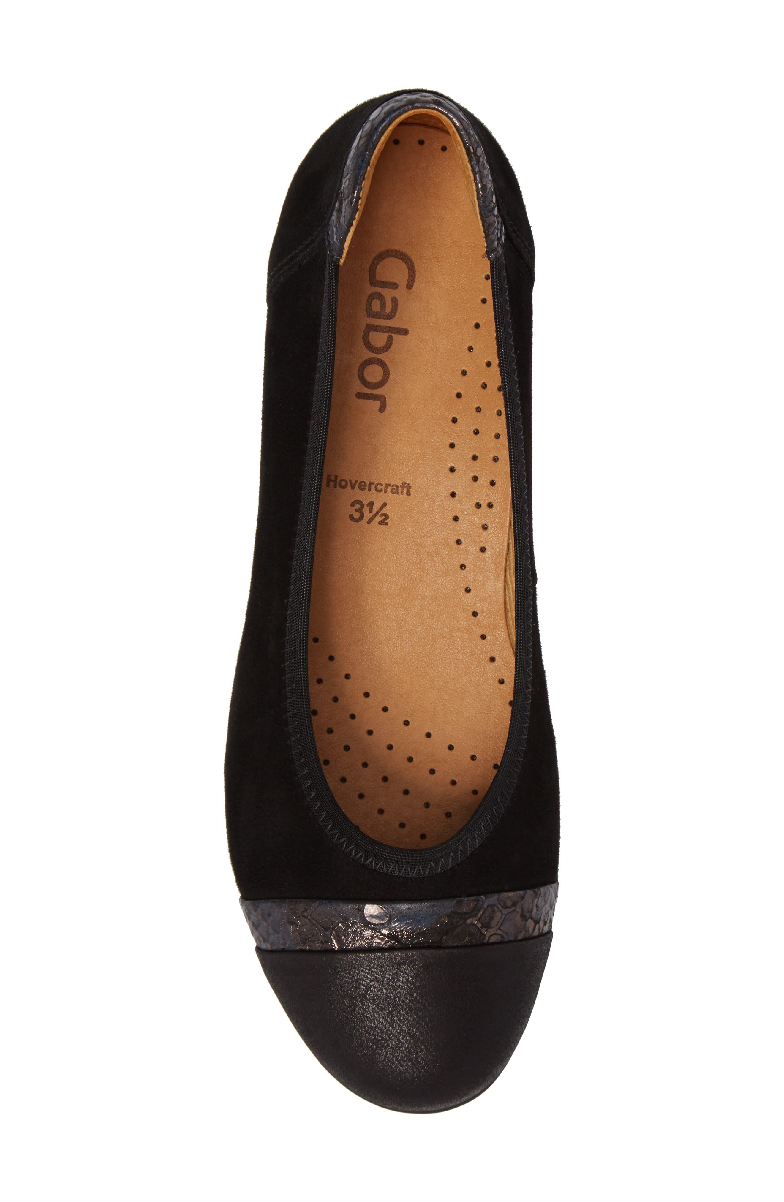 Alternate Image 5  - Gabor Cap Toe Ballet Flat (Women)