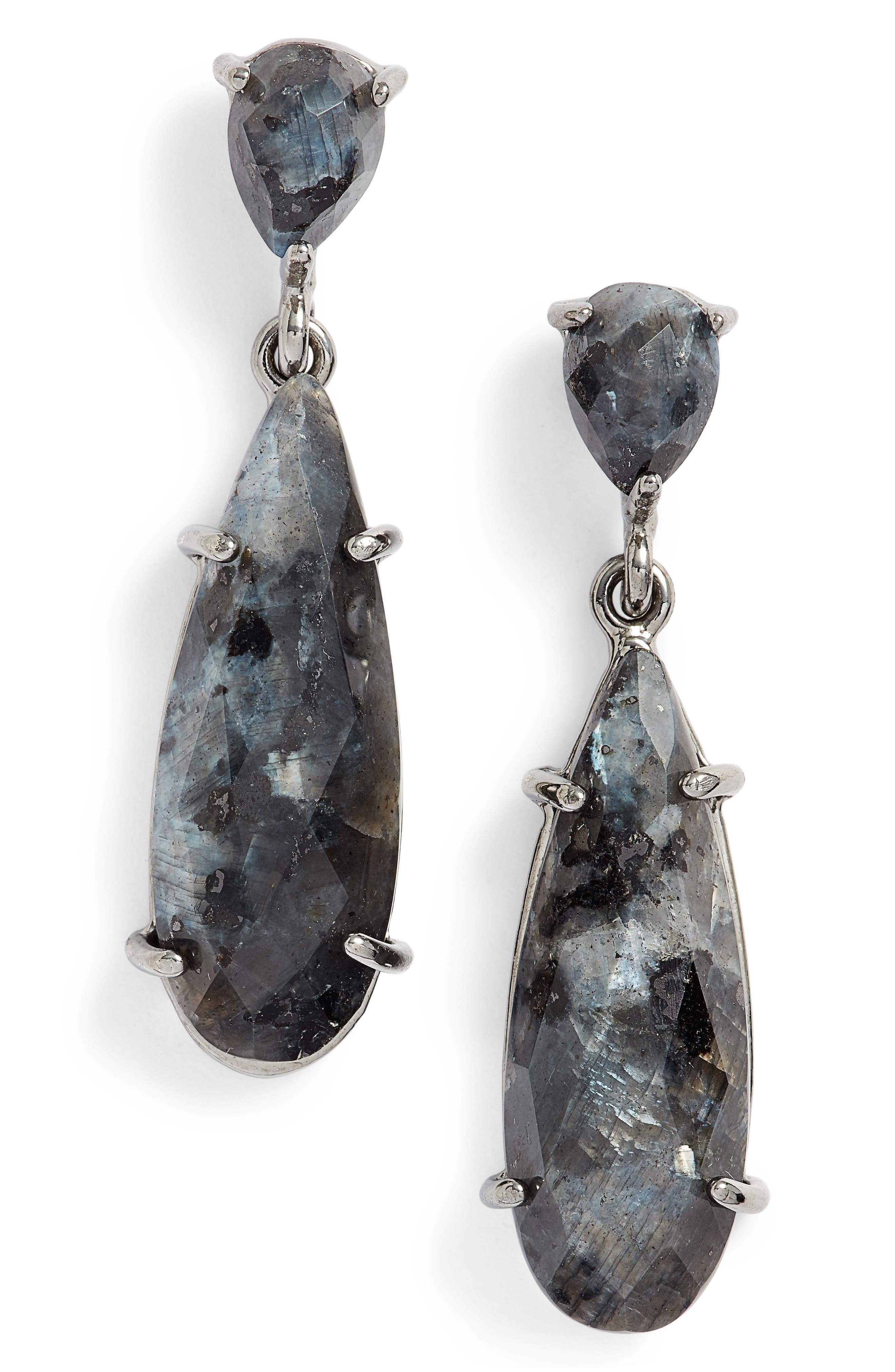Alternate Image 1 Selected - Nakamol Labradorite Drop Earrings