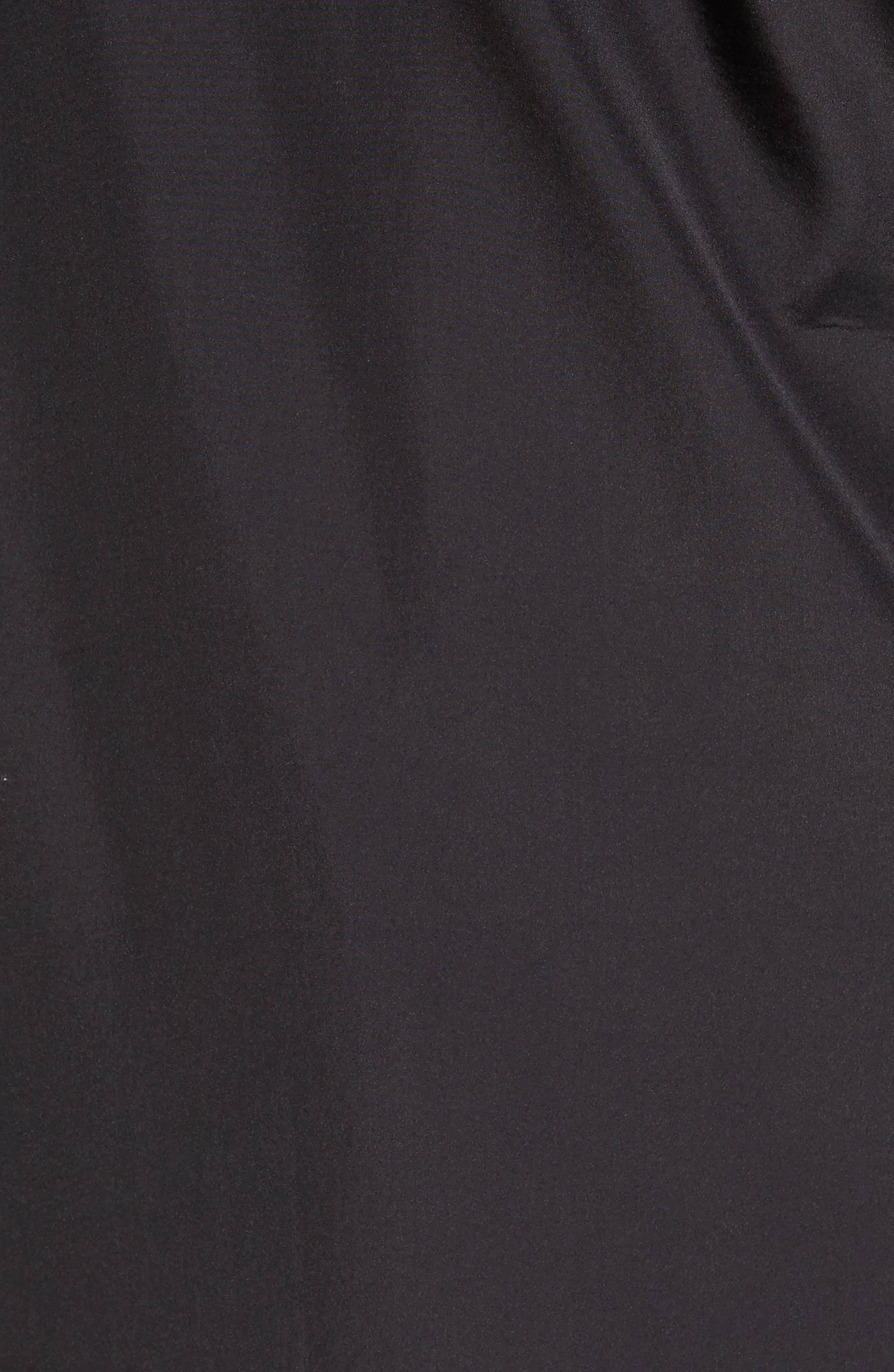 Cedric Weatherproof Jacket,                             Alternate thumbnail 5, color,                             Black