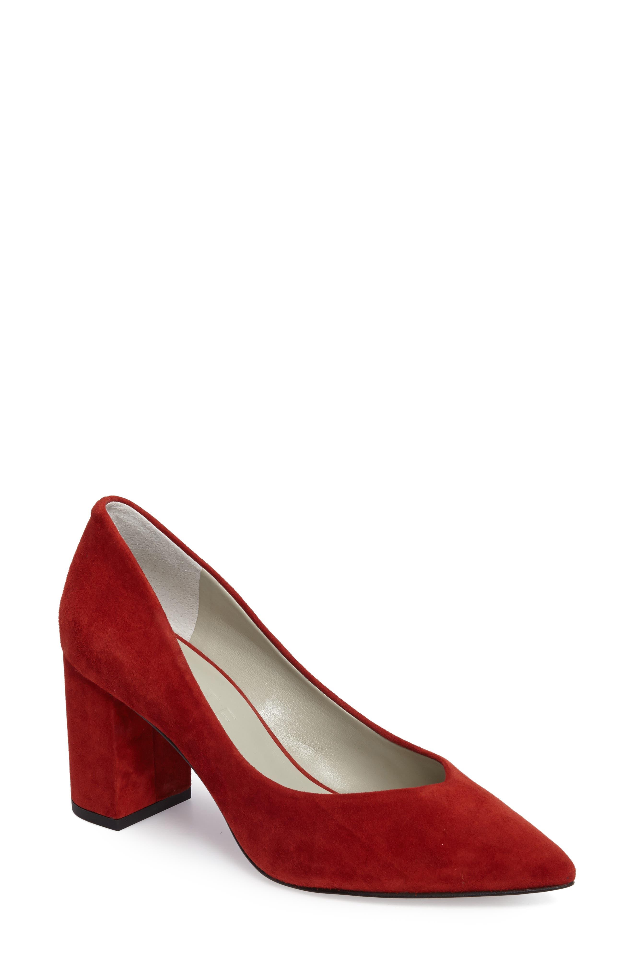 1state saffy block heel pump women