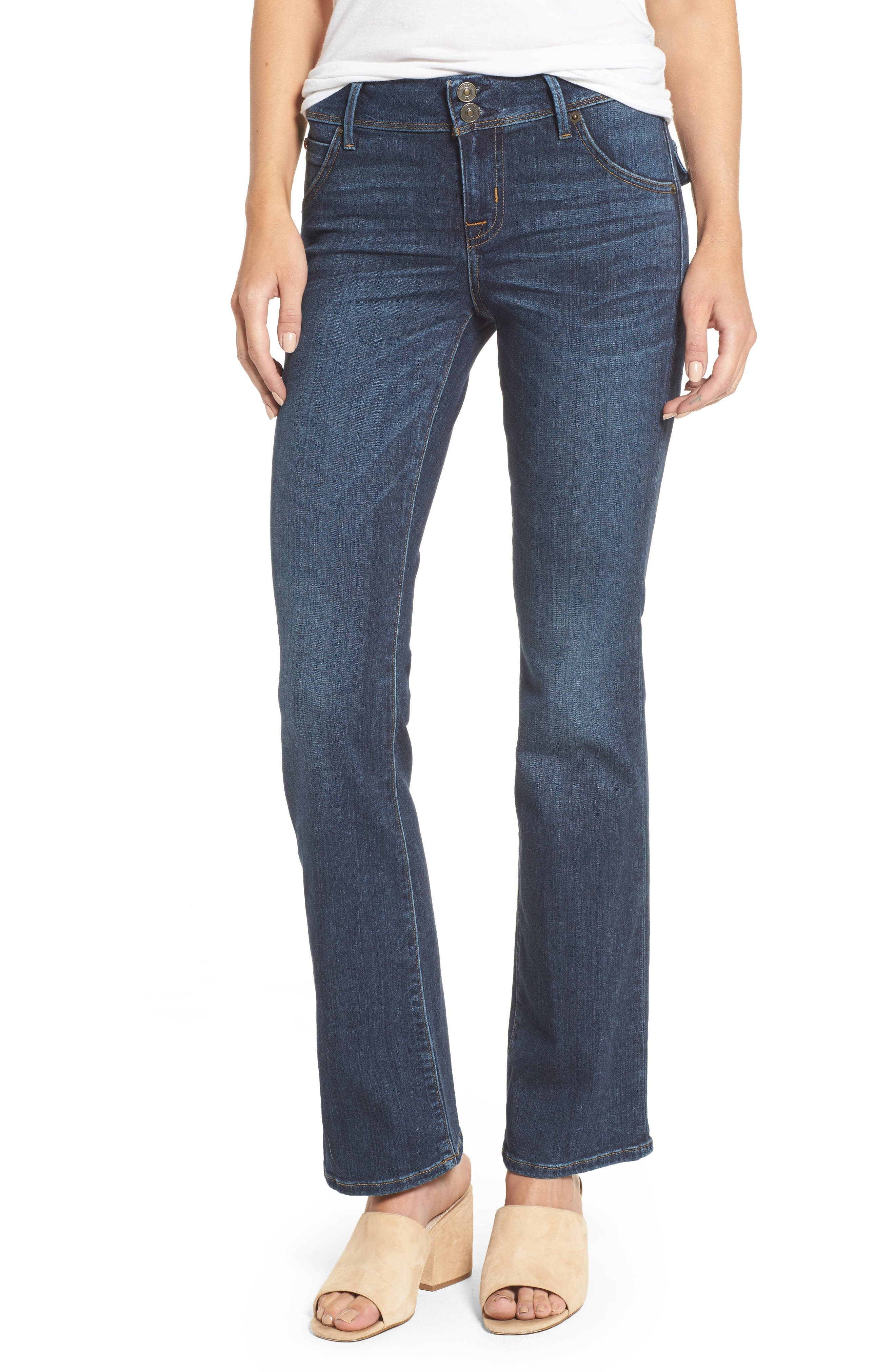 Hudson Jeans Beth Baby Bootcut Jeans (Spellbound) (Petite)