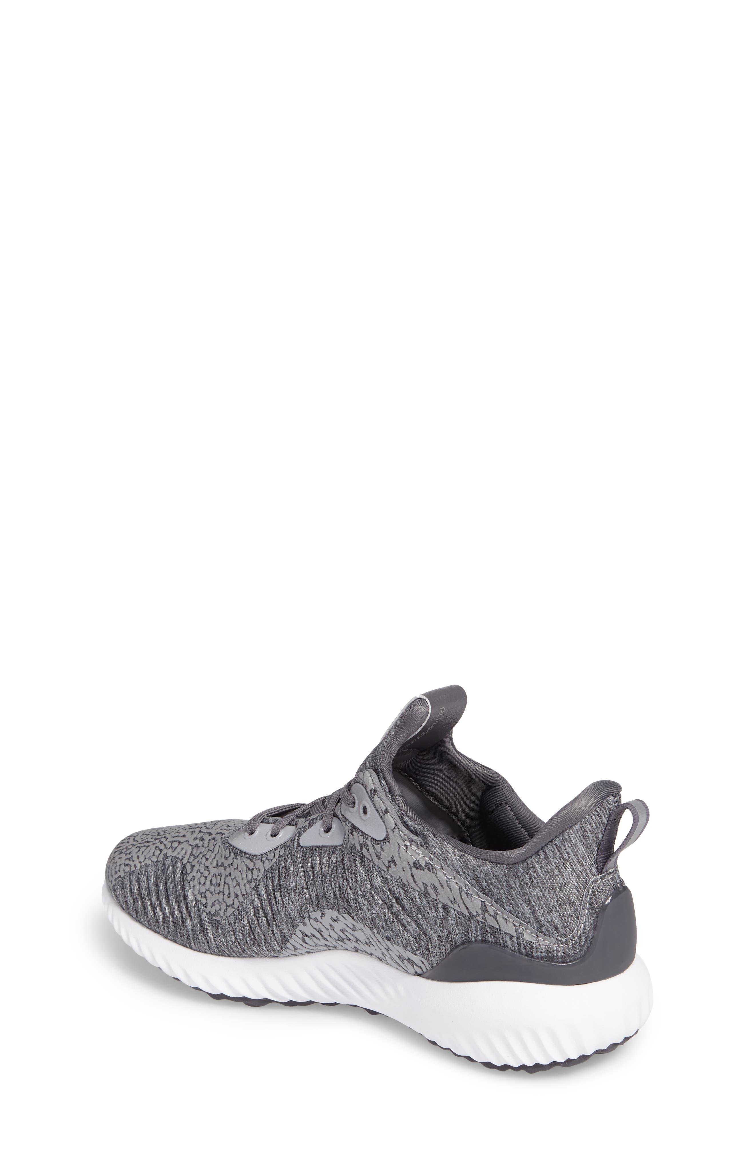 AlphaBounce Sneaker,                             Alternate thumbnail 2, color,                             Medium Grey Heather