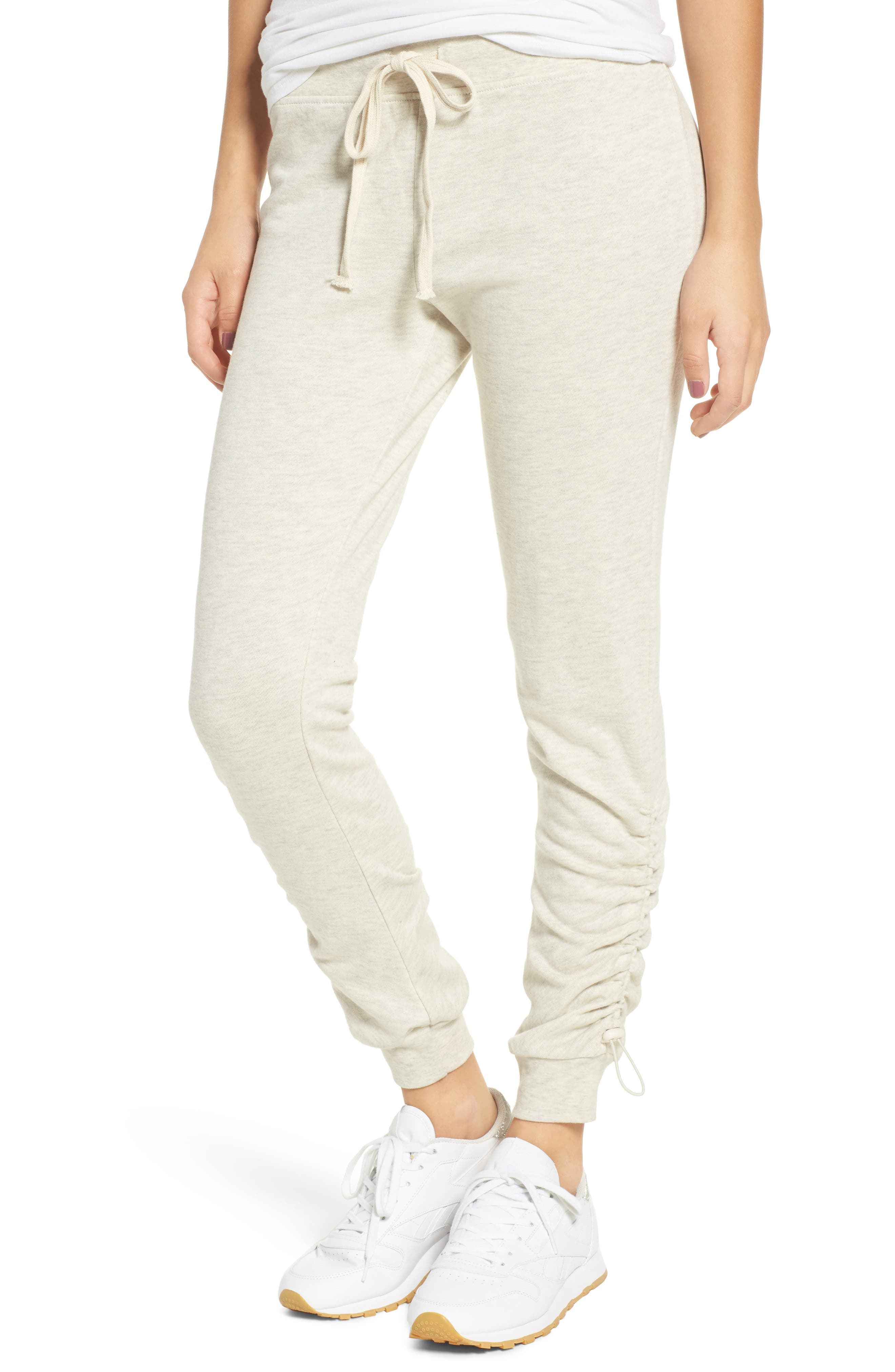 Alternate Image 1 Selected - Socialite Cinched Joggers