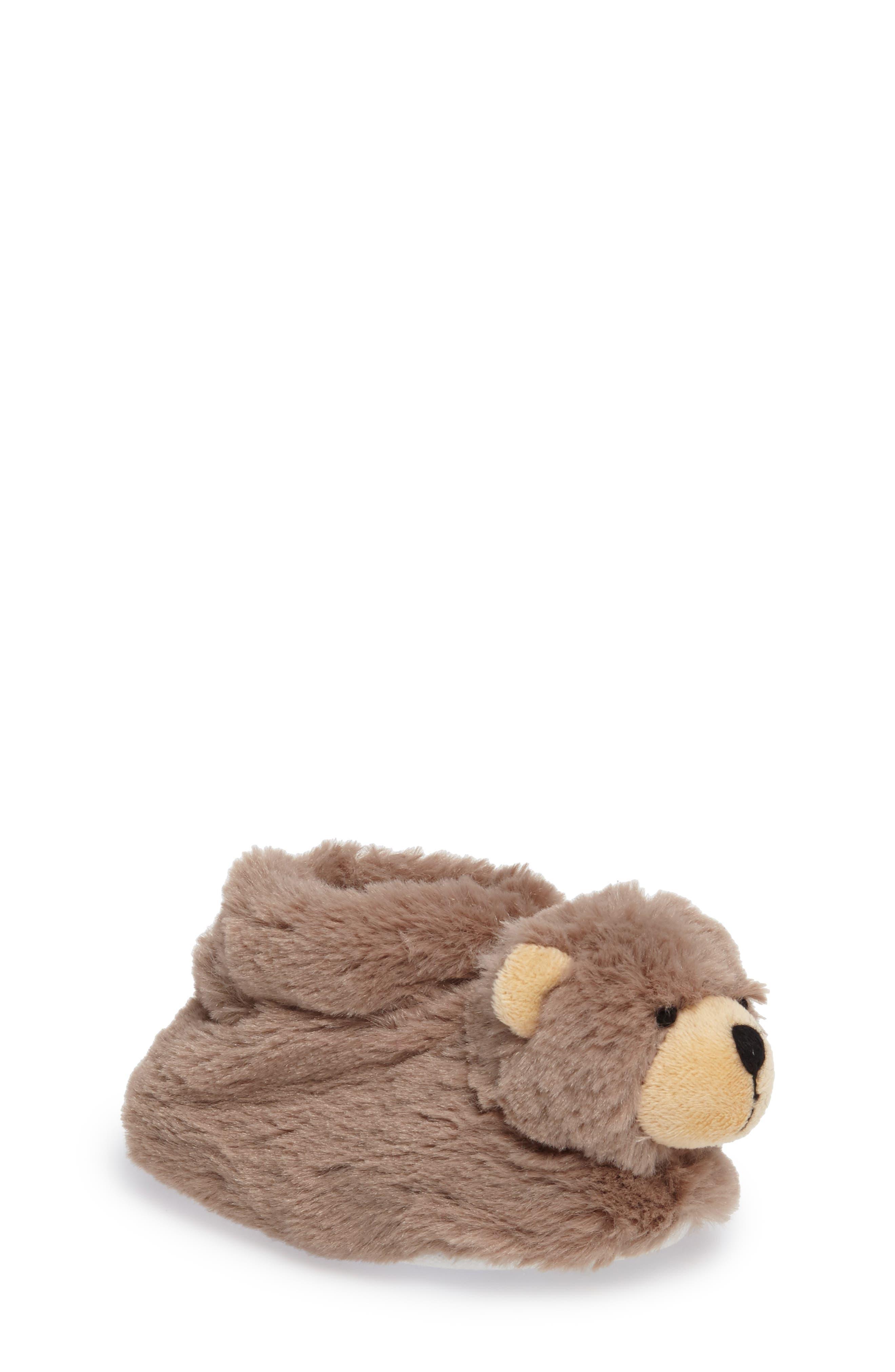 Nordstrom Plush Animal Slipper (Baby & Toddler)