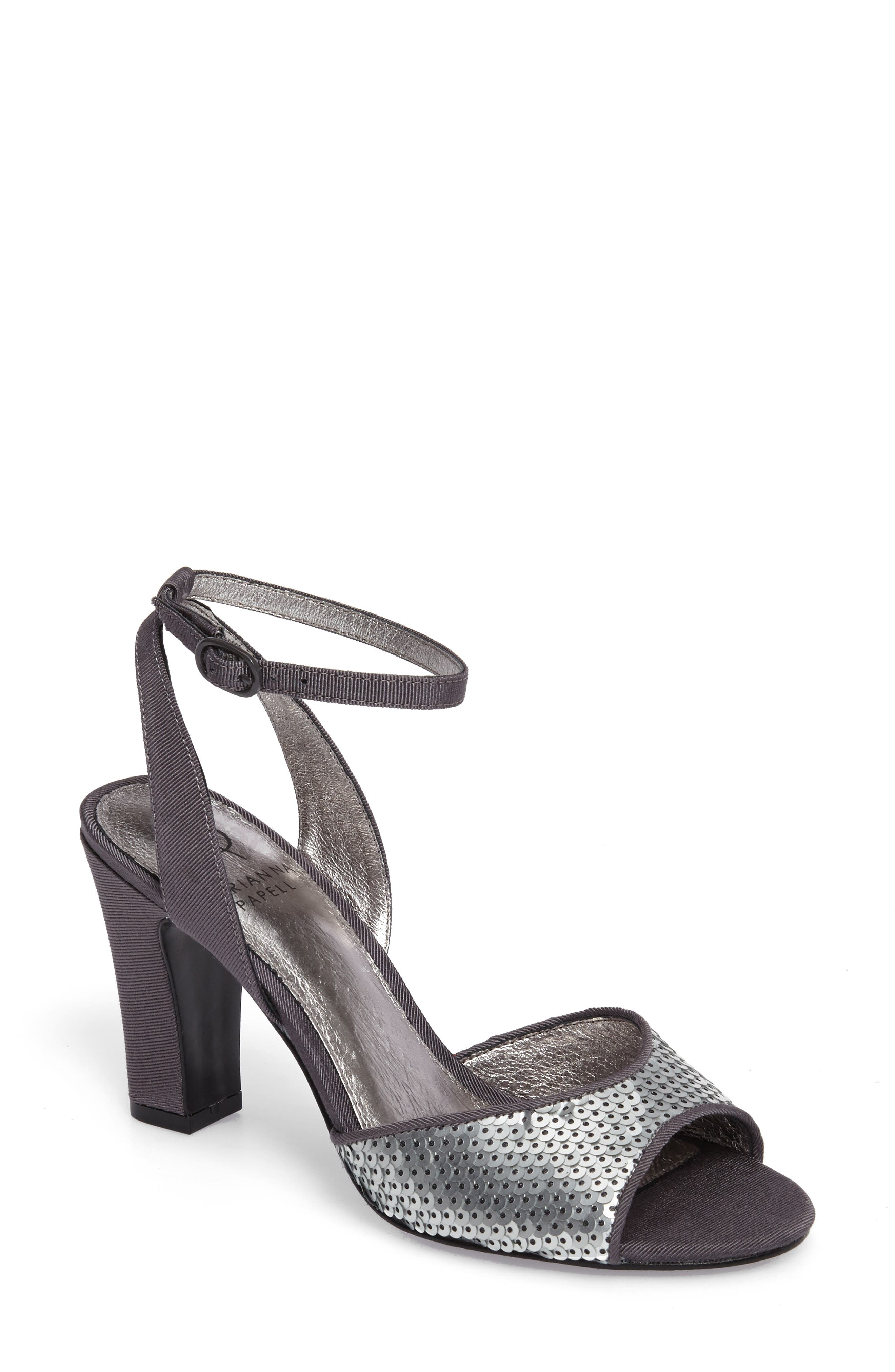 Main Image - Adrianna Papell Astrid Ankle Strap Sandal (Women)