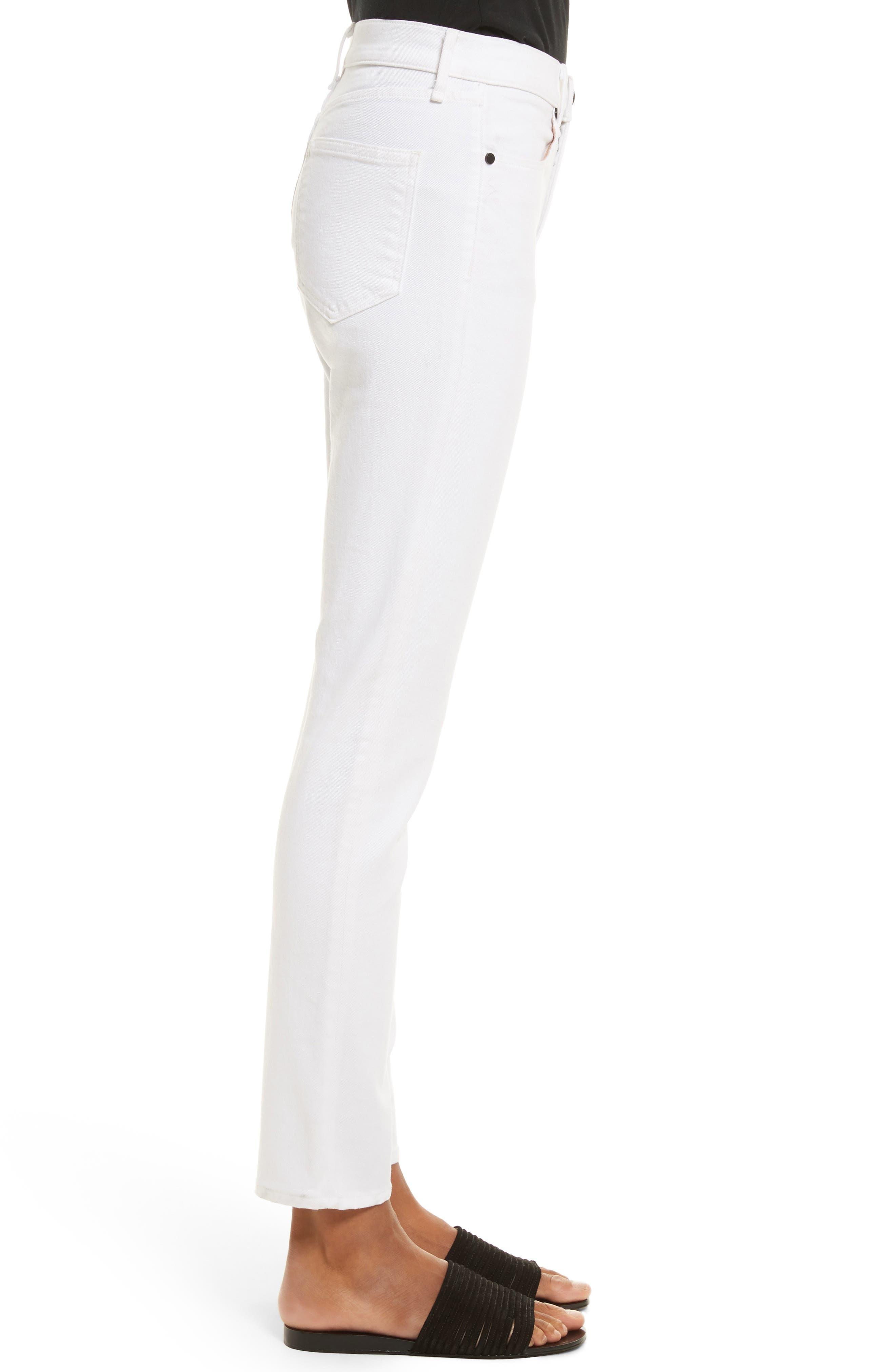 Alternate Image 3  - rag & bone/JEAN High Waist Ankle Skinny Jeans