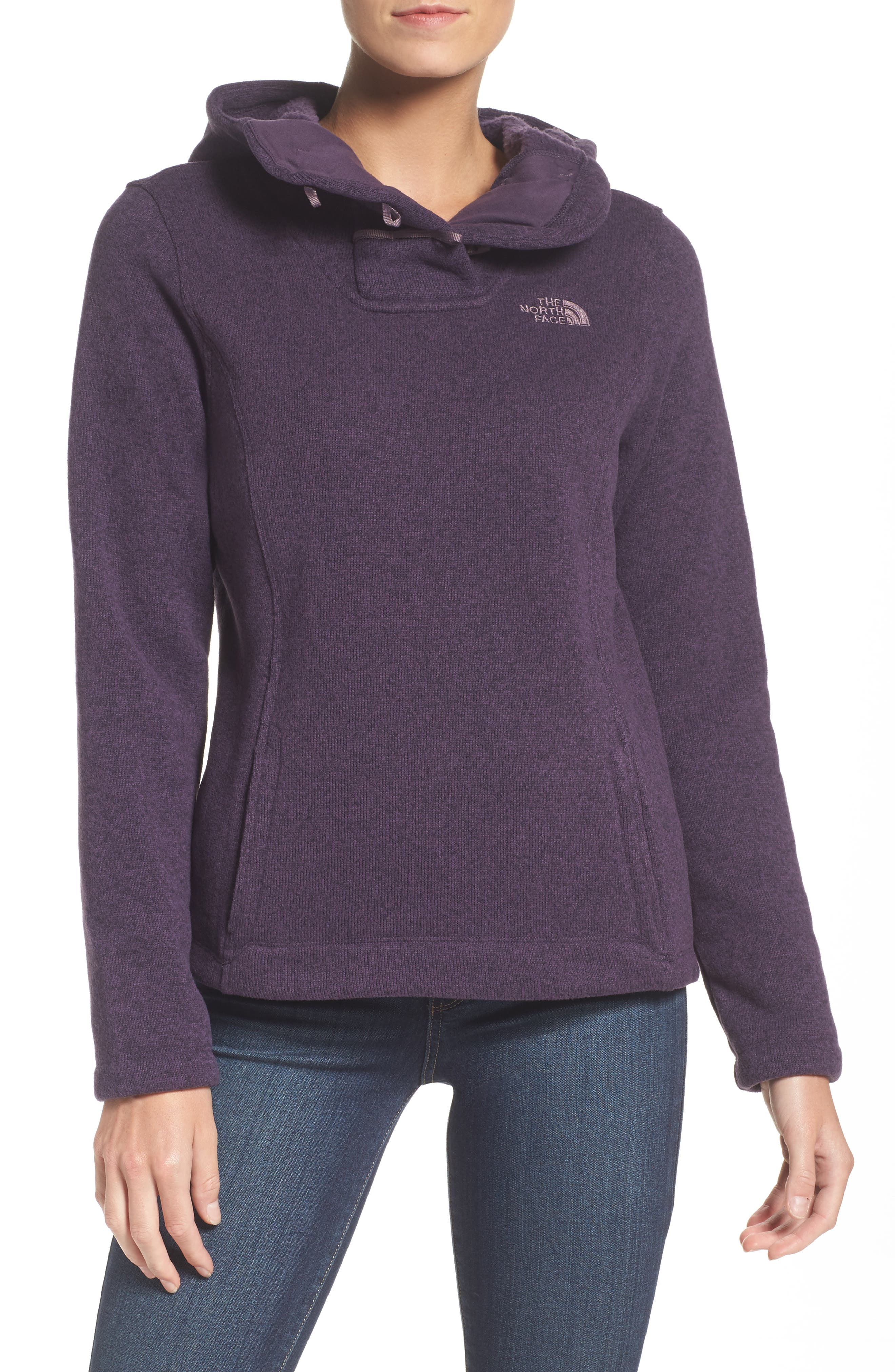 Alternate Image 1 Selected - The North Face Crescent Hooded Pullover