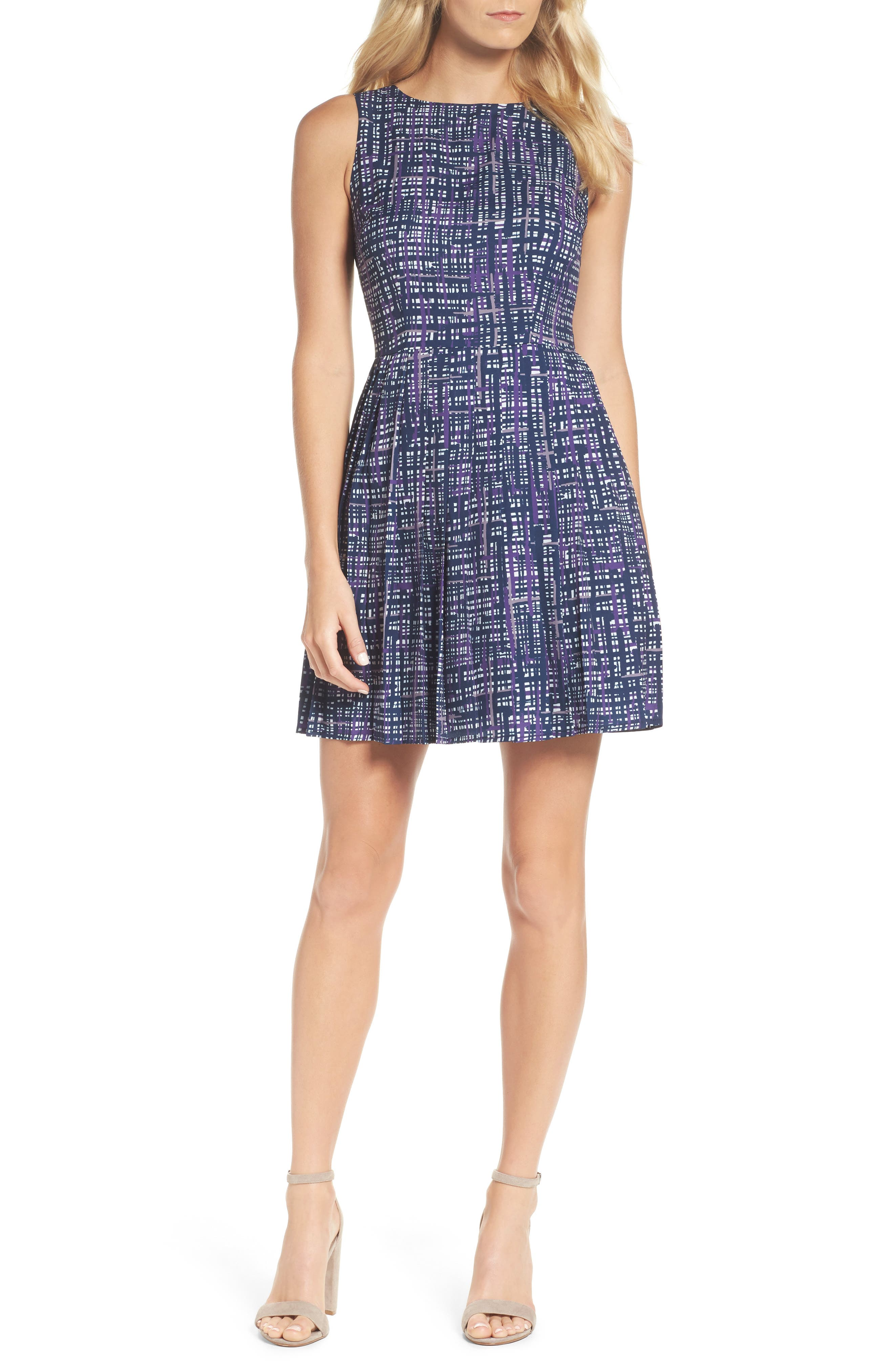 Alternate Image 1 Selected - Felicity & Coco Lolka Fit & Flare Dress (Nordstrom Exclusive)