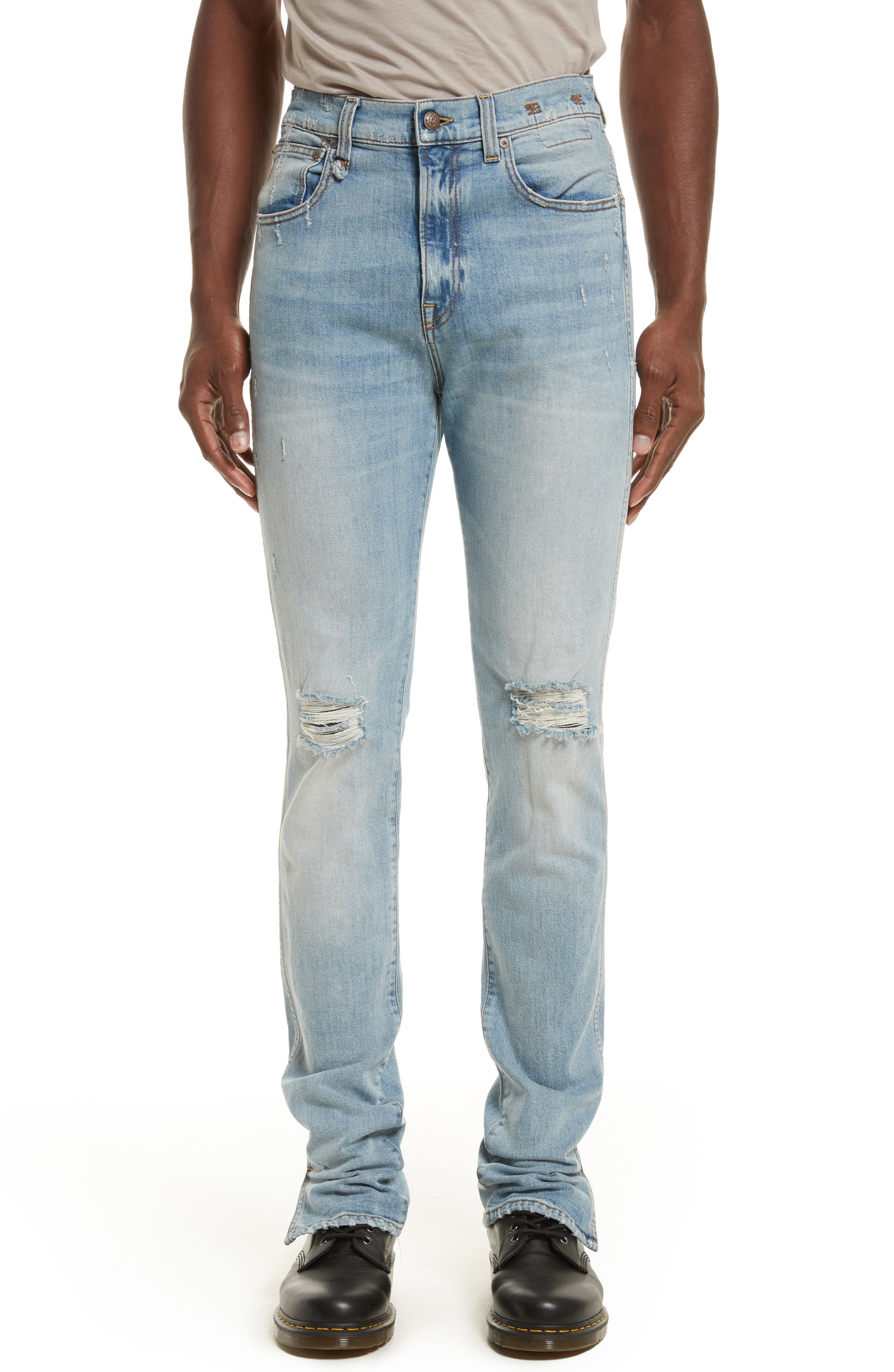 Deacon Skate Skinny Fit Jeans,                             Main thumbnail 1, color,                             Portsmouth