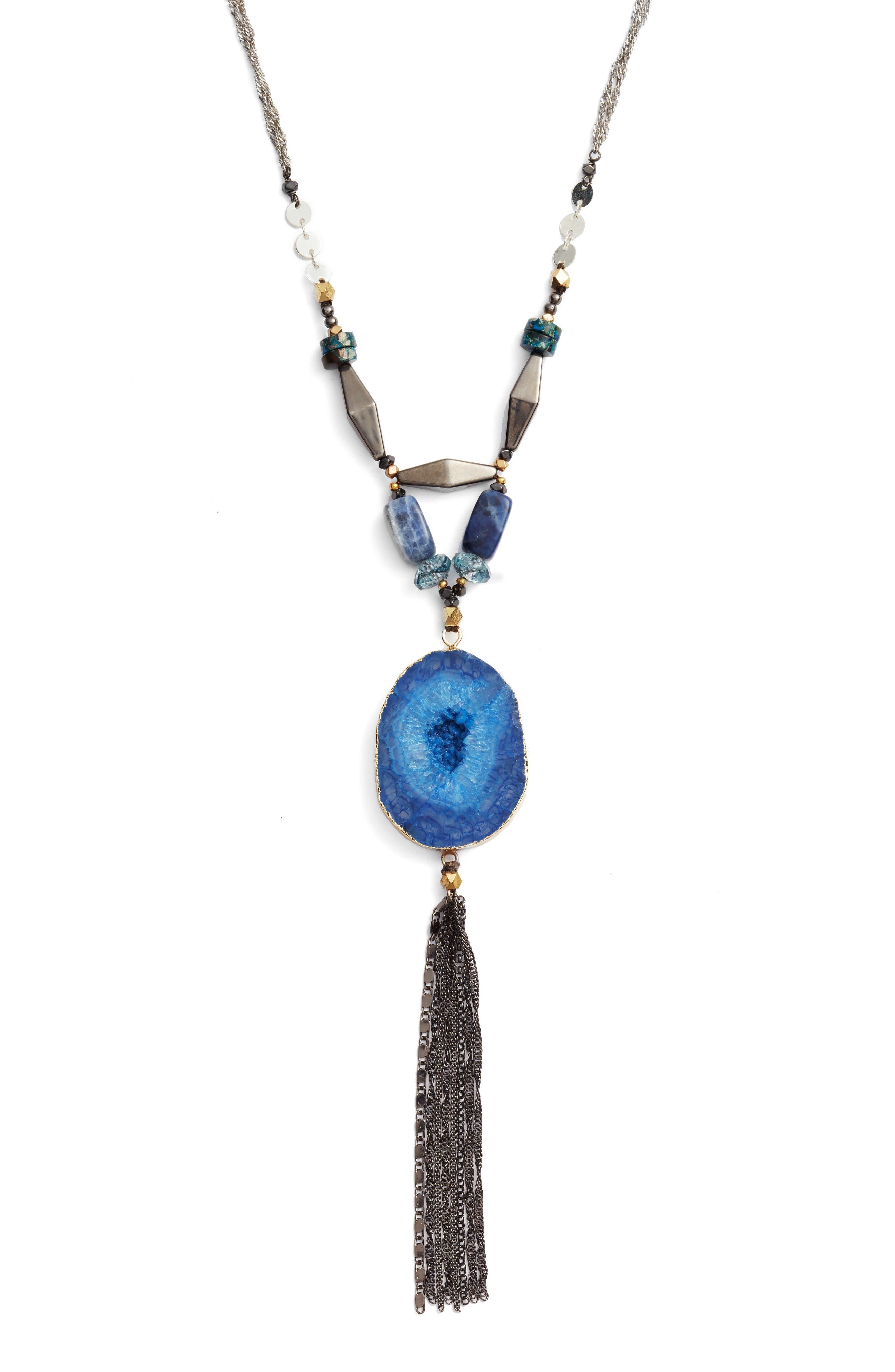 Alternate Image 2  - Nakamol Design Stone Pendant Necklace