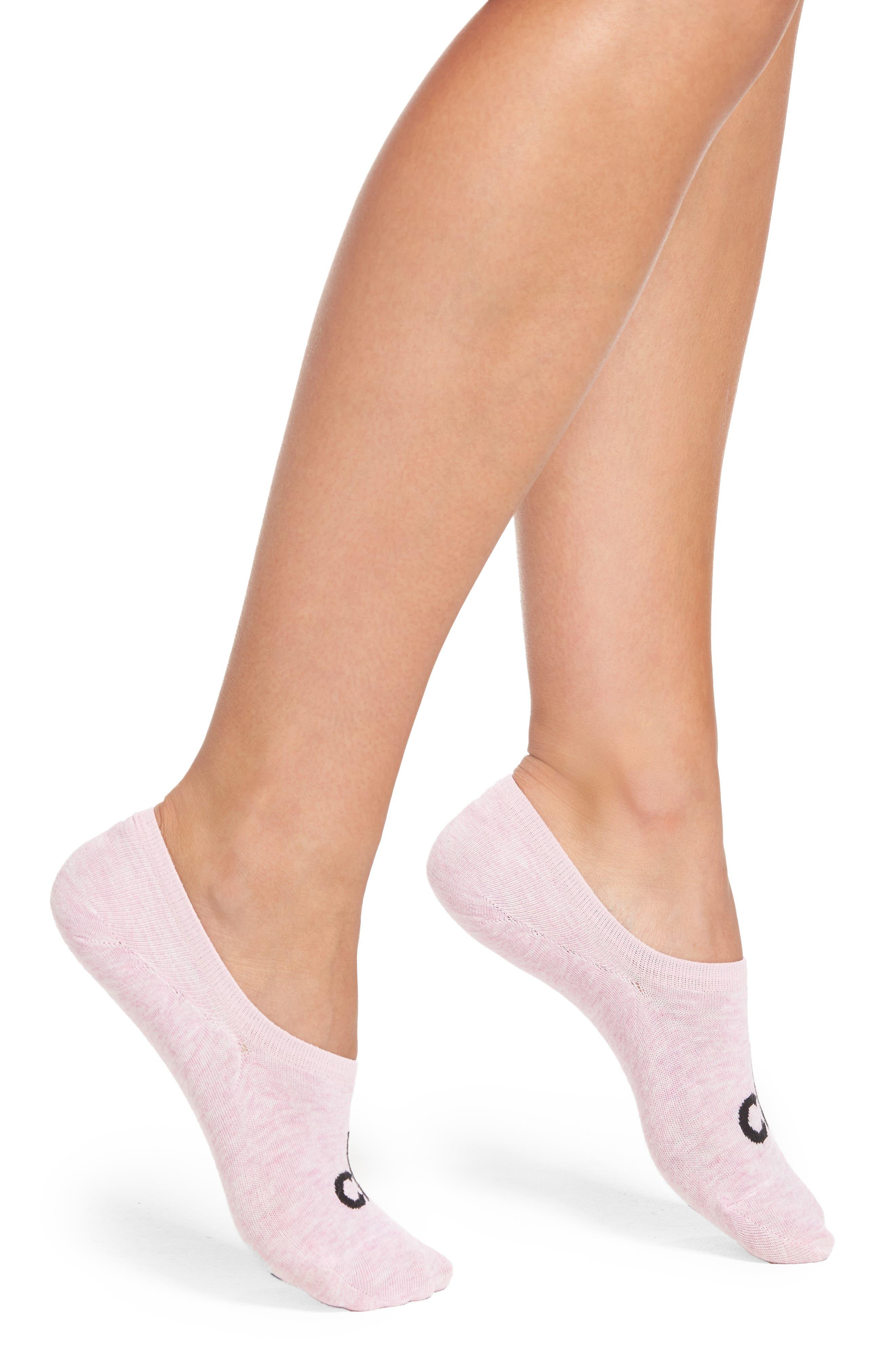 Calvin Klein Logo No-Show Socks