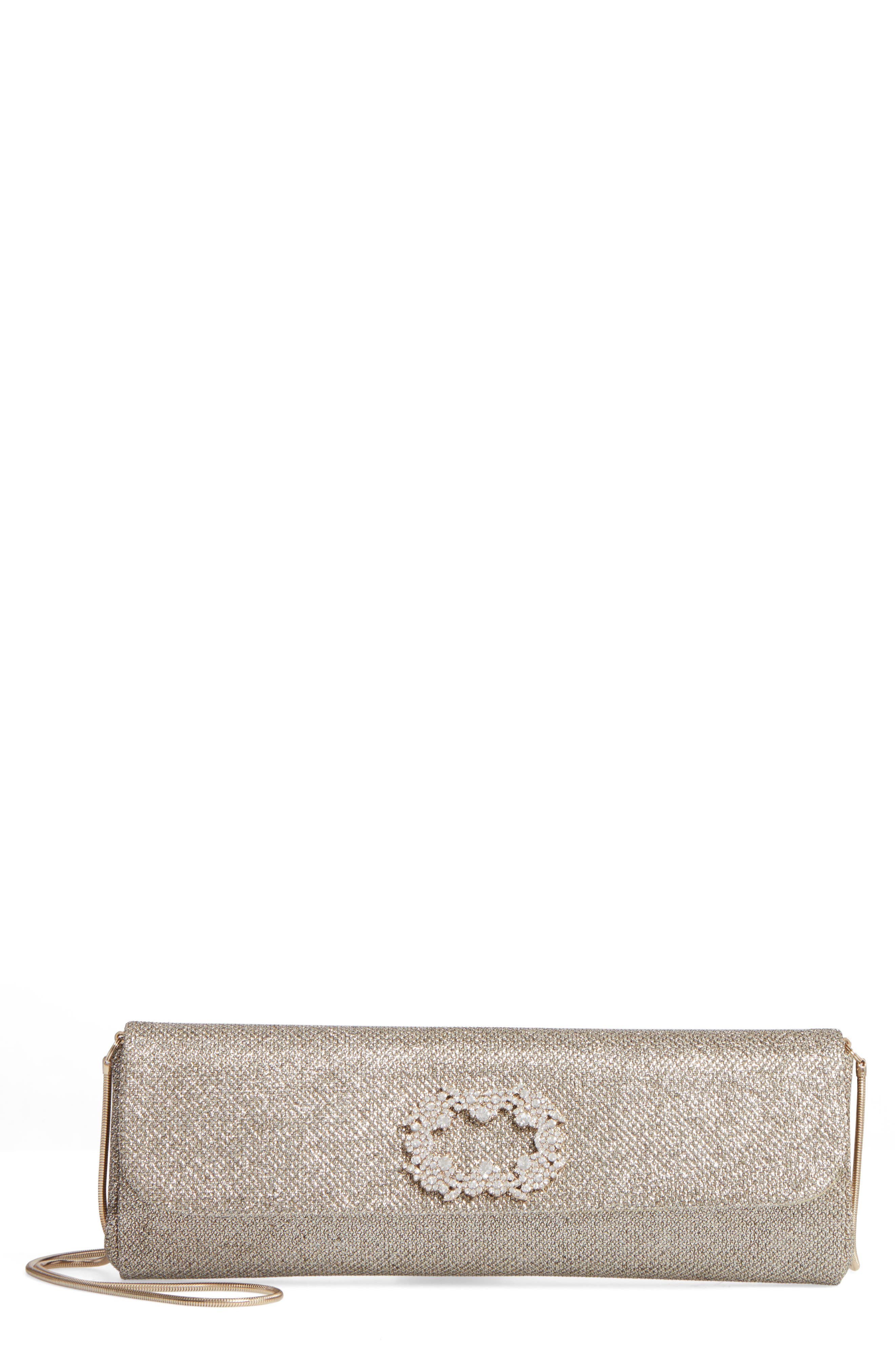 Badgley Mischka Delicate Mesh Clutch