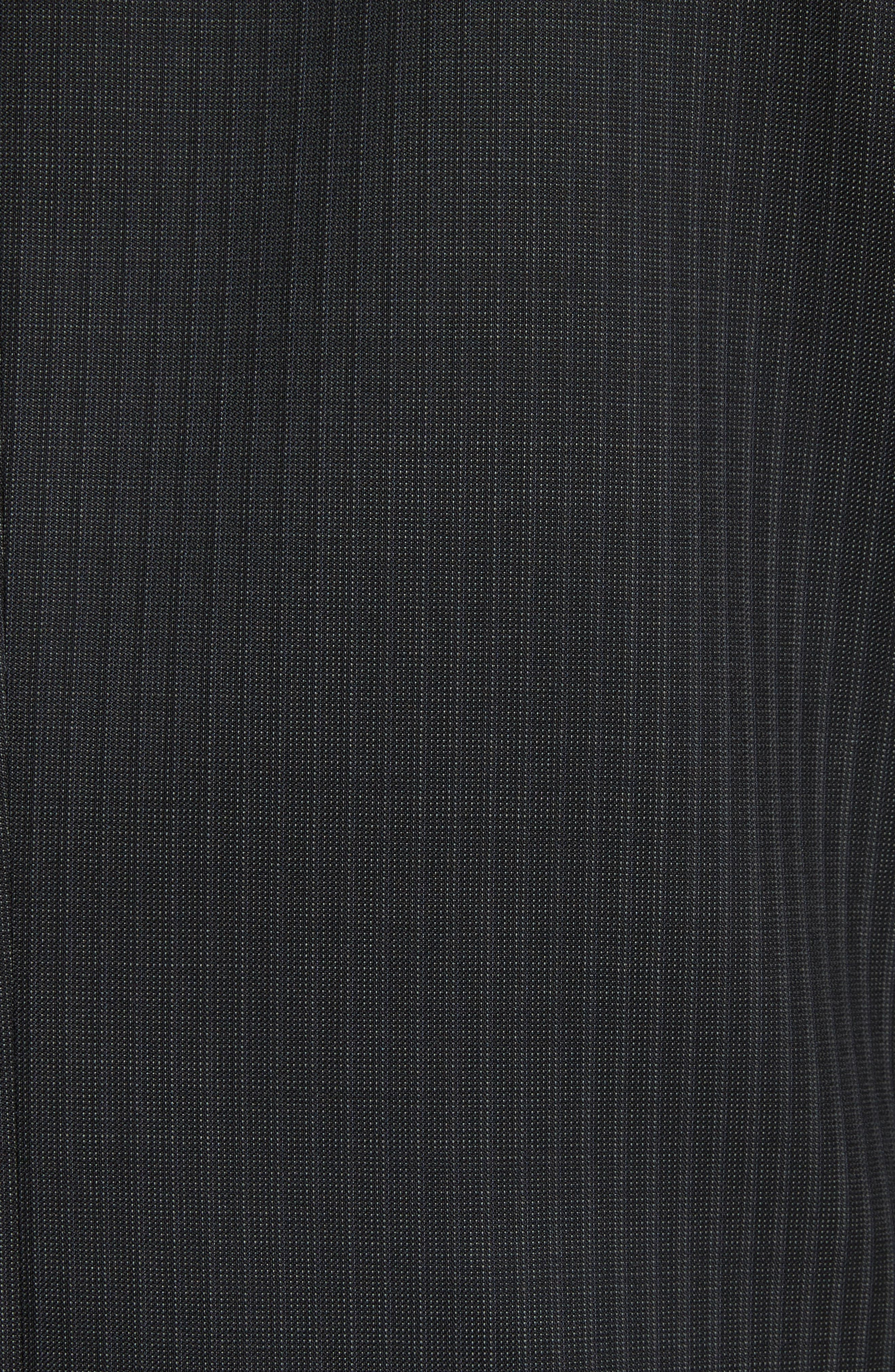 Classic Fit Stripe Wool Suit,                             Alternate thumbnail 7, color,                             Grey